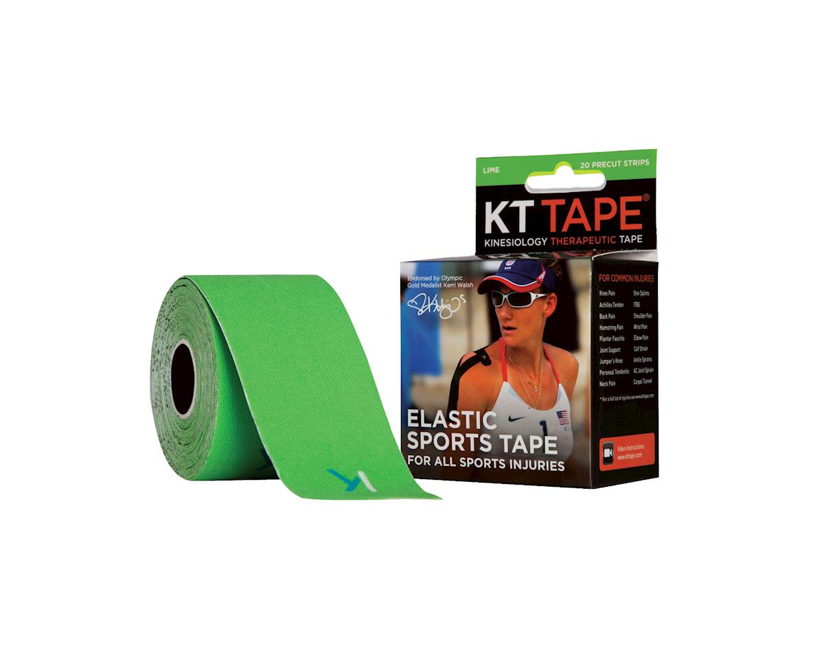 Kinesiology Therapeutic Body Tape: Roll of 20 Strips, Lime