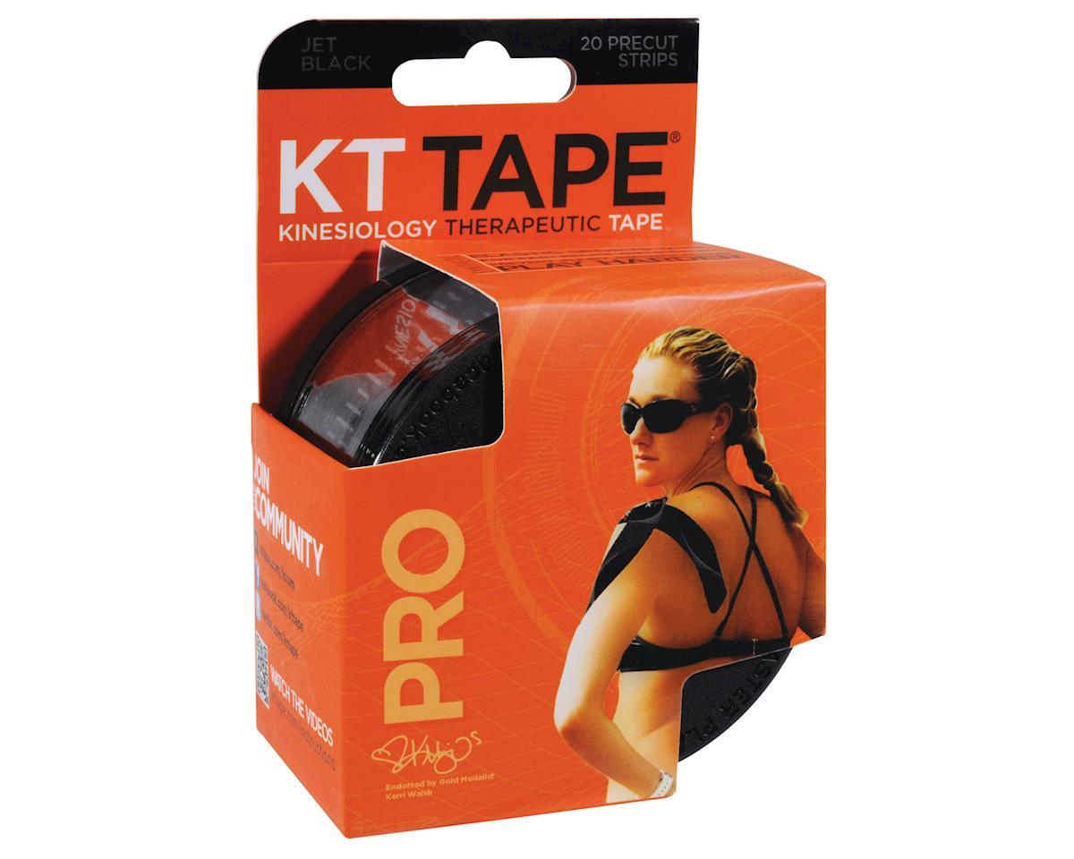 Pro Kinesiology Therapeutic Body Tape: Roll of 20 Strips, Jet Black