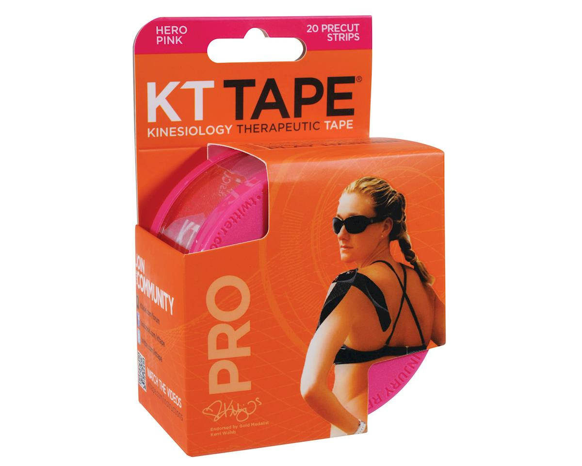 Pro Kinesiology Therapeutic Body Tape: Roll of 20 Strips, Hero Pink