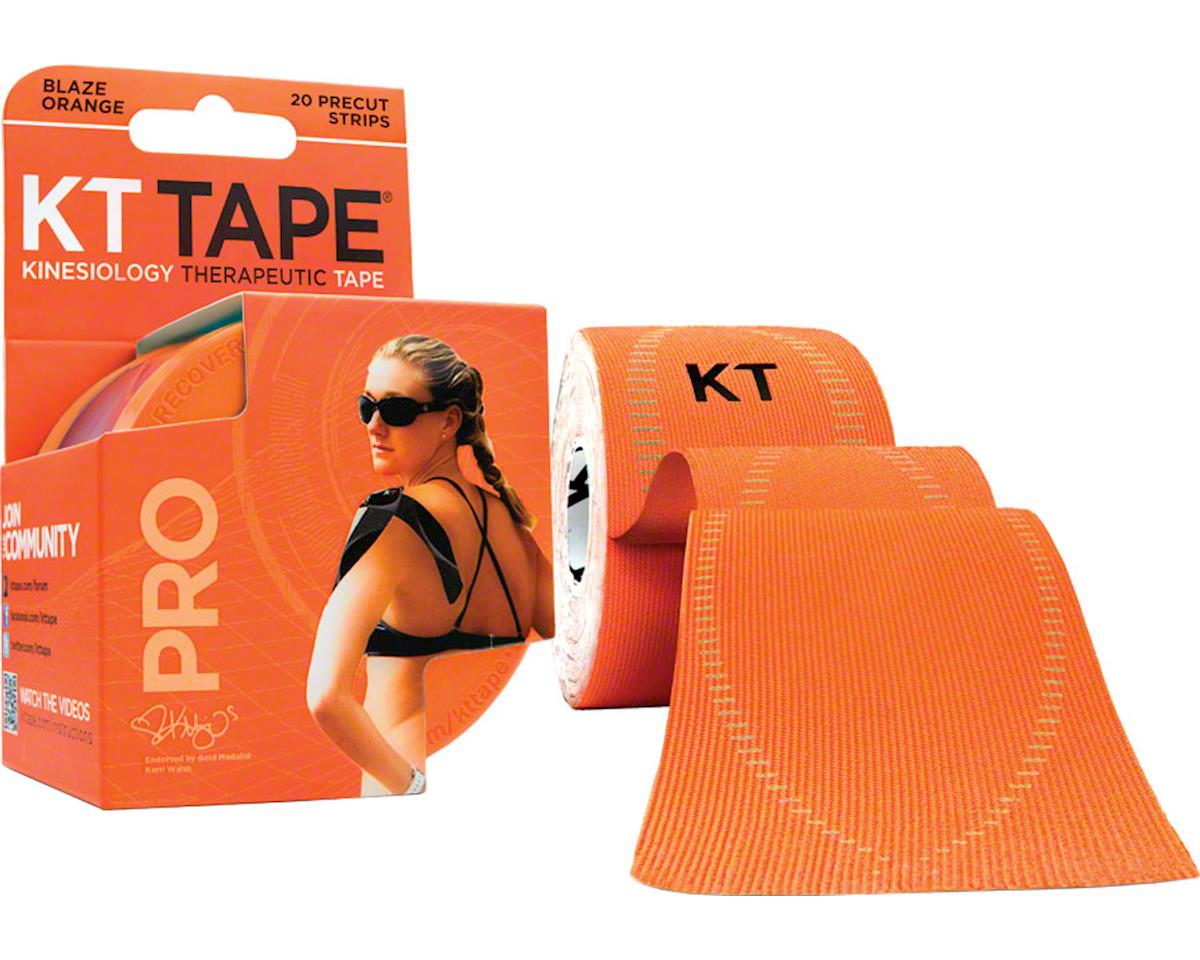 Kt Tape Pro Kinesiology Therapeutic Body Tape (Blaze Orange) (20 Strips/Roll)