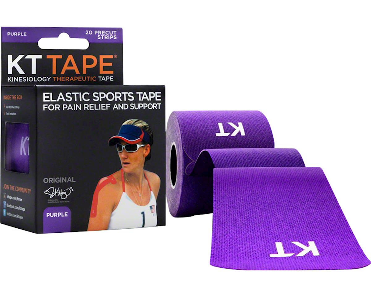 Kt Tape Kinesiology Therapeutic Body Tape (Purple) (20 Strips/Roll)