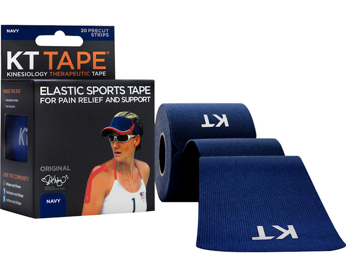 Kt Tape Kinesiology Therapeutic Body Tape (Navy Blue) (20 Strips/Roll)