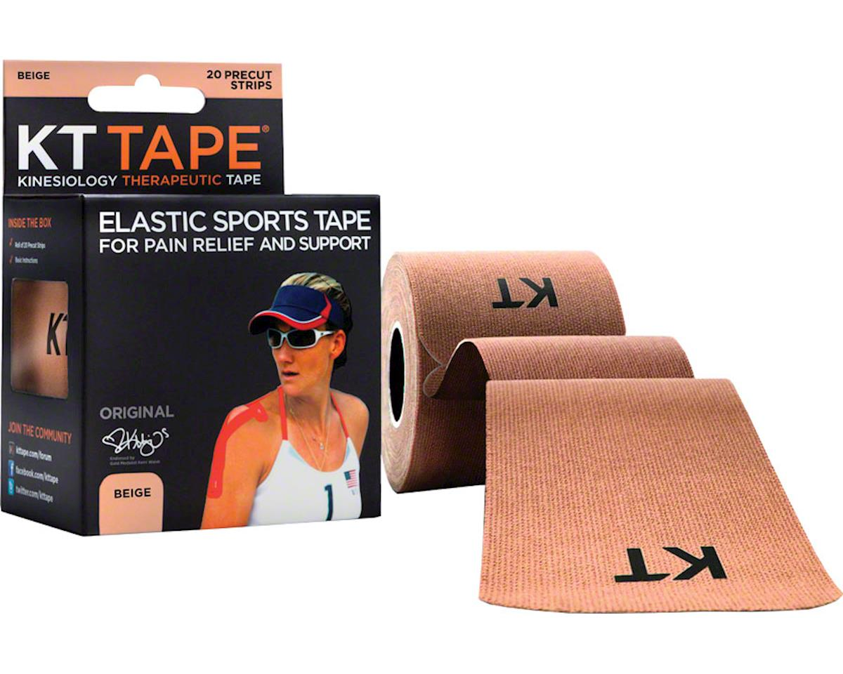 Kt Tape Kinesiology Therapeutic Body Tape: Roll of 20 Strips, Beige