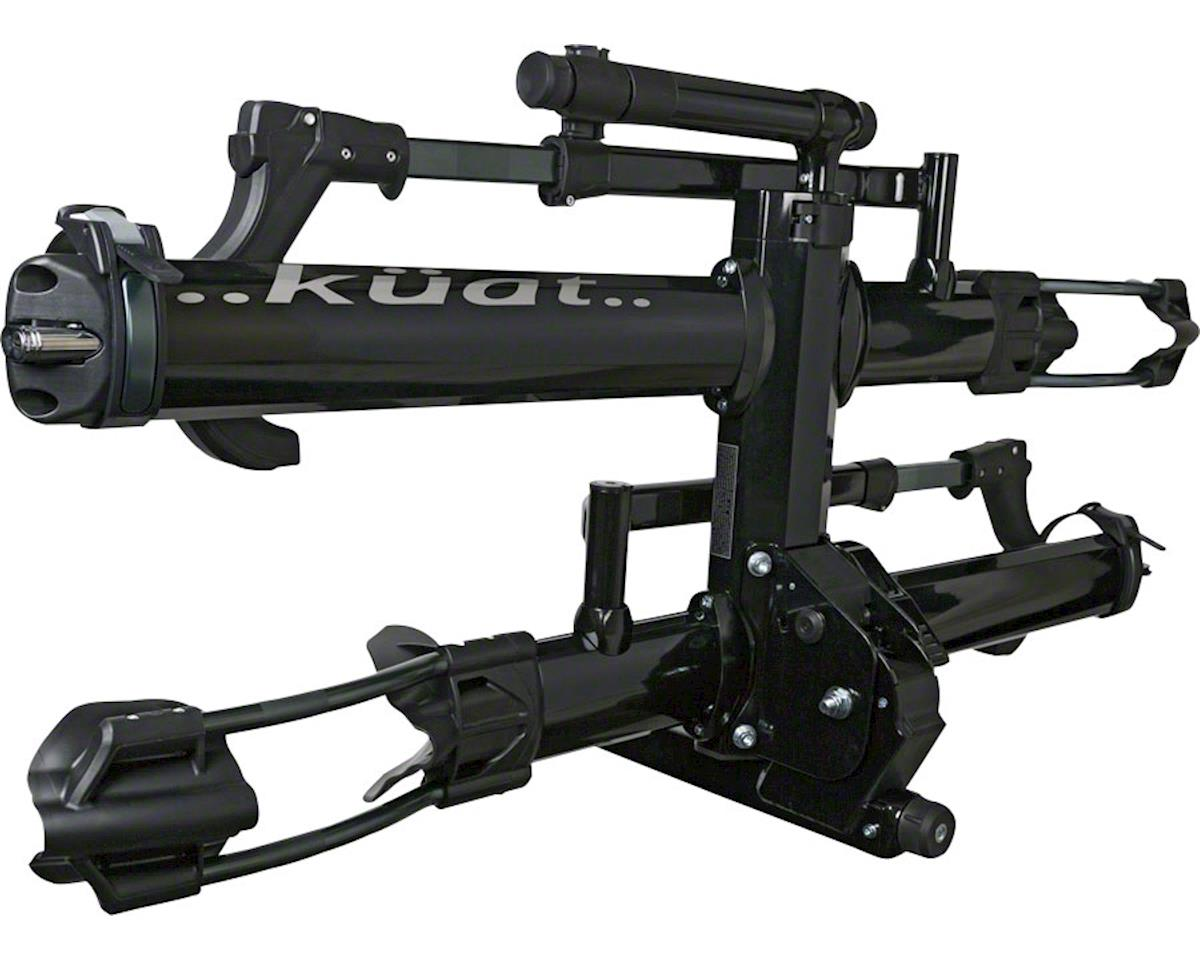 "Kuat NV 2.0 2-Bike Platform Hitch Rack - (1.25"" Receiver) (Black Metallic)"