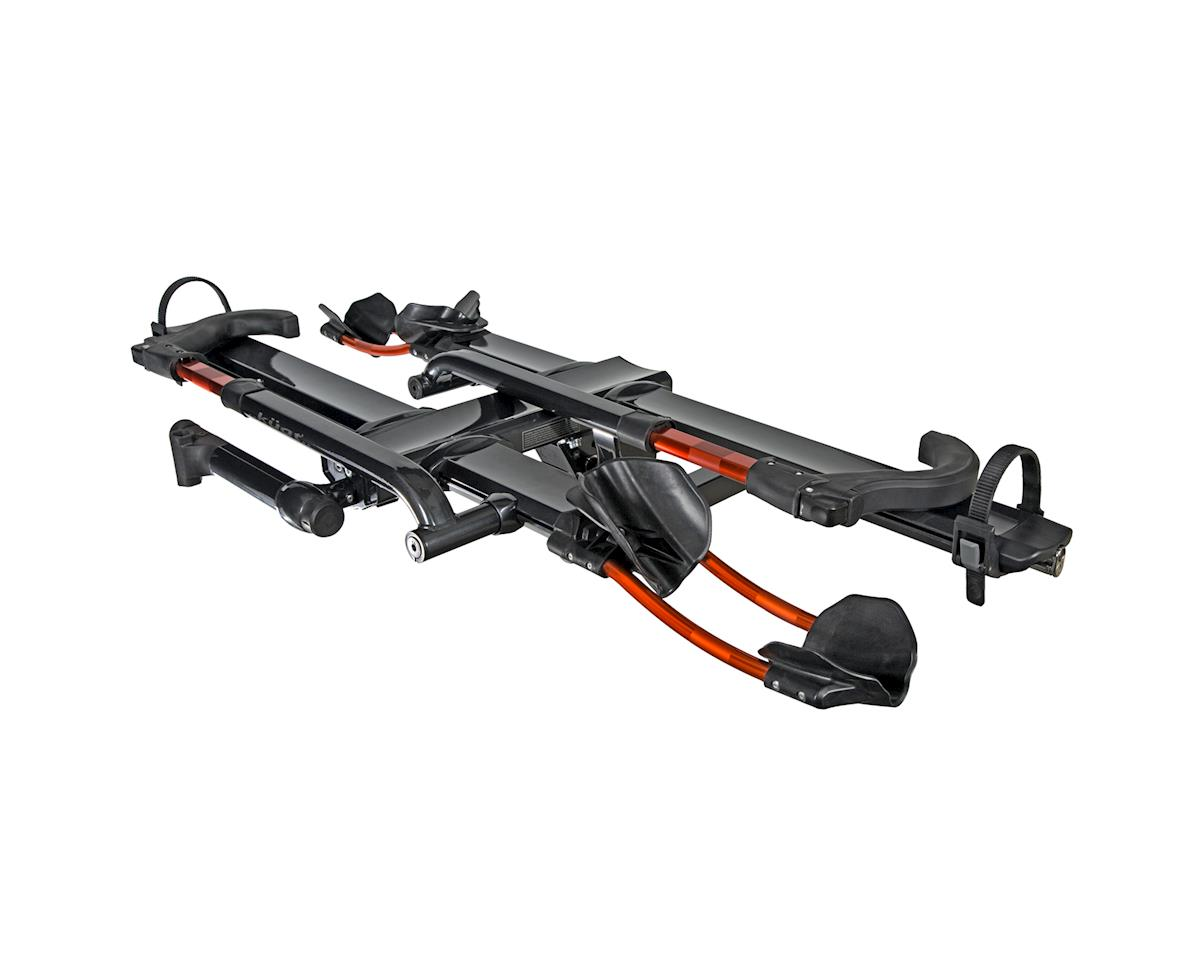 "Kuat NV 2.0 2-Bike Platform Hitch Rack - (1.25"" Receiver) (Gray/Orange)"