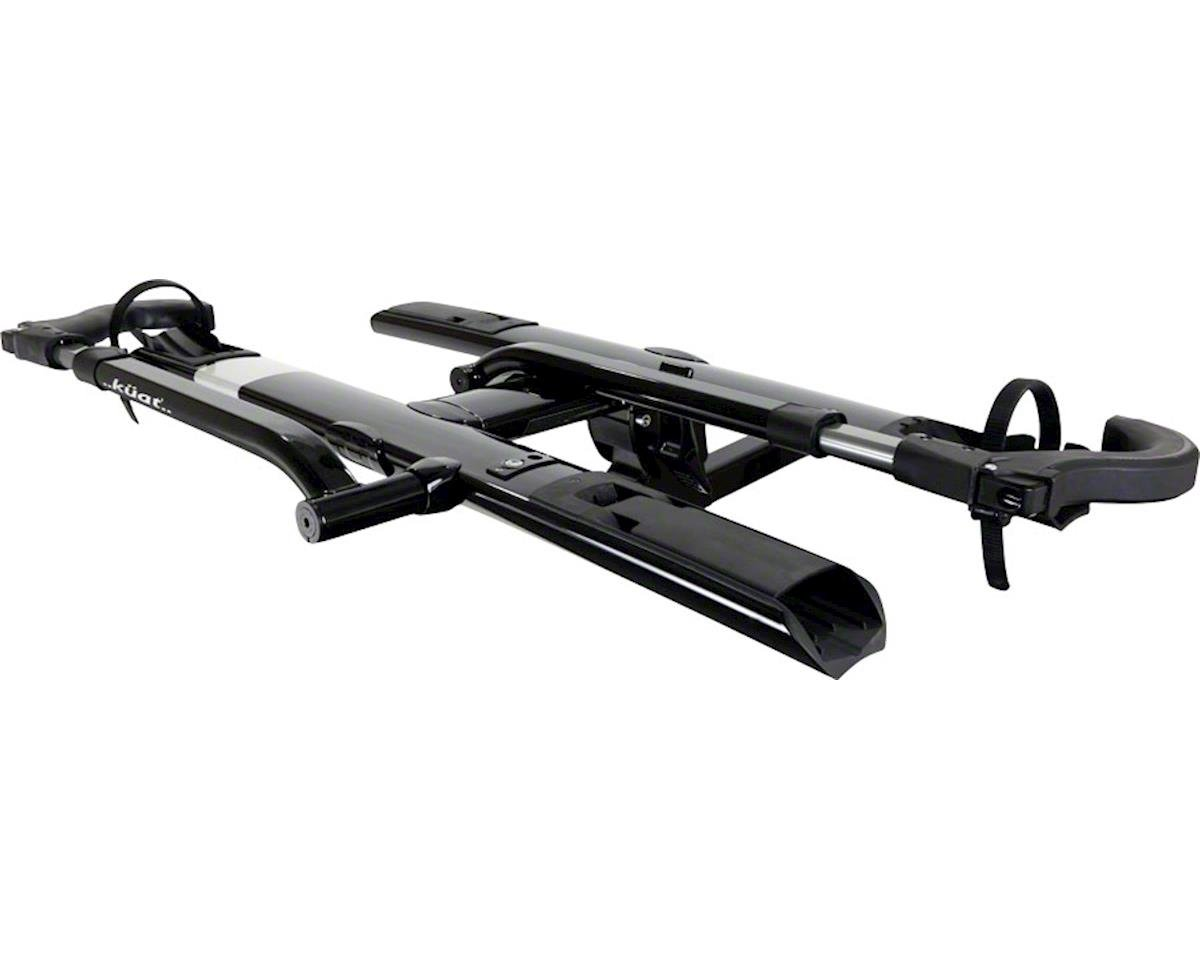 "Kuat Sherpa 2.0 2-Bike Platform Hitch Rack (1.25"" Receiver) (Black Metallic)"