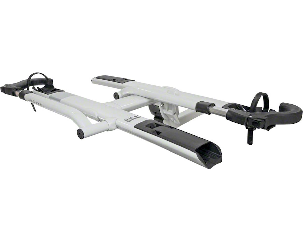 "Kuat Sherpa 2.0 2-Bike Platform Hitch Rack (1.25"" Receiver) (Pearl)"