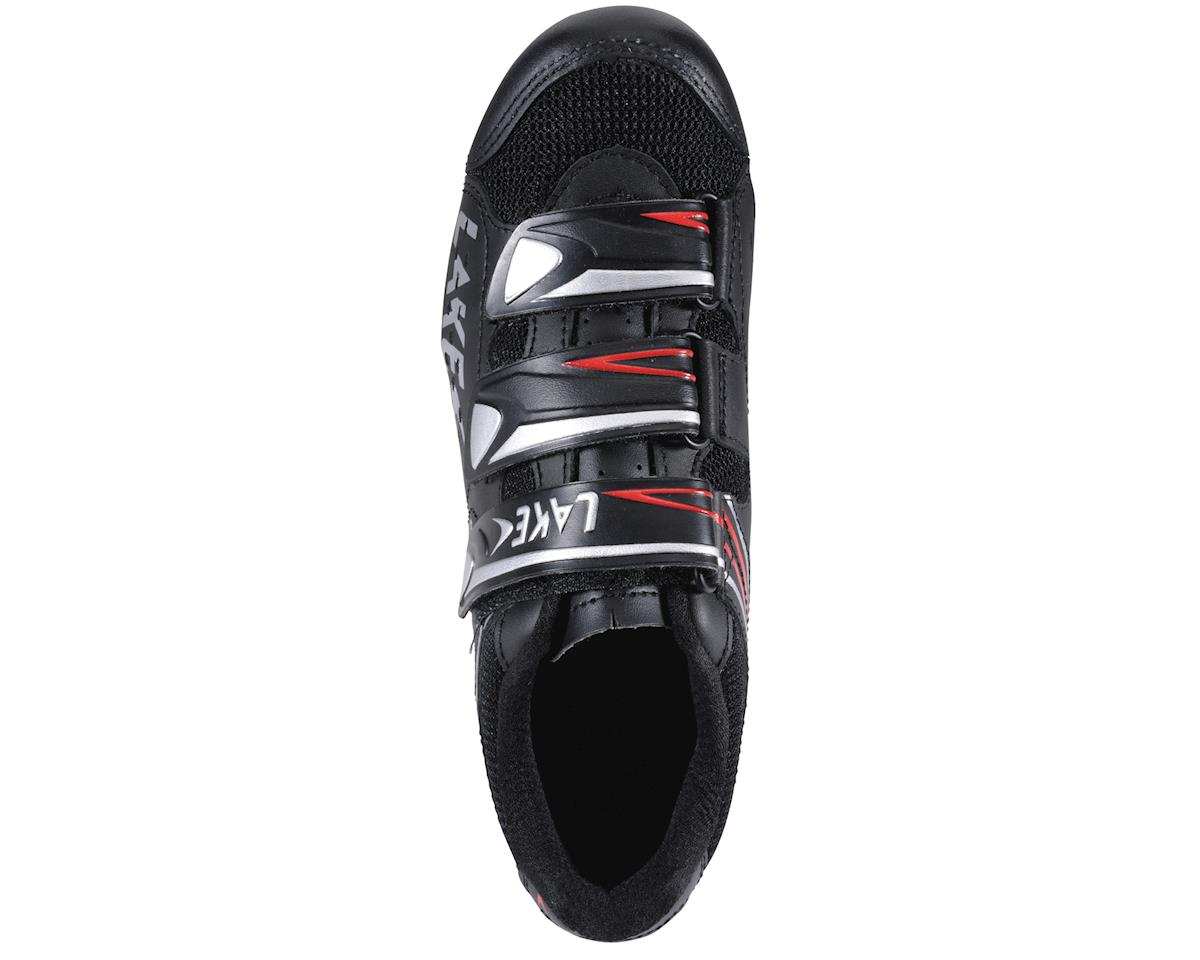 Image 2 for Lake CX160 Road Shoes (Black/Red)