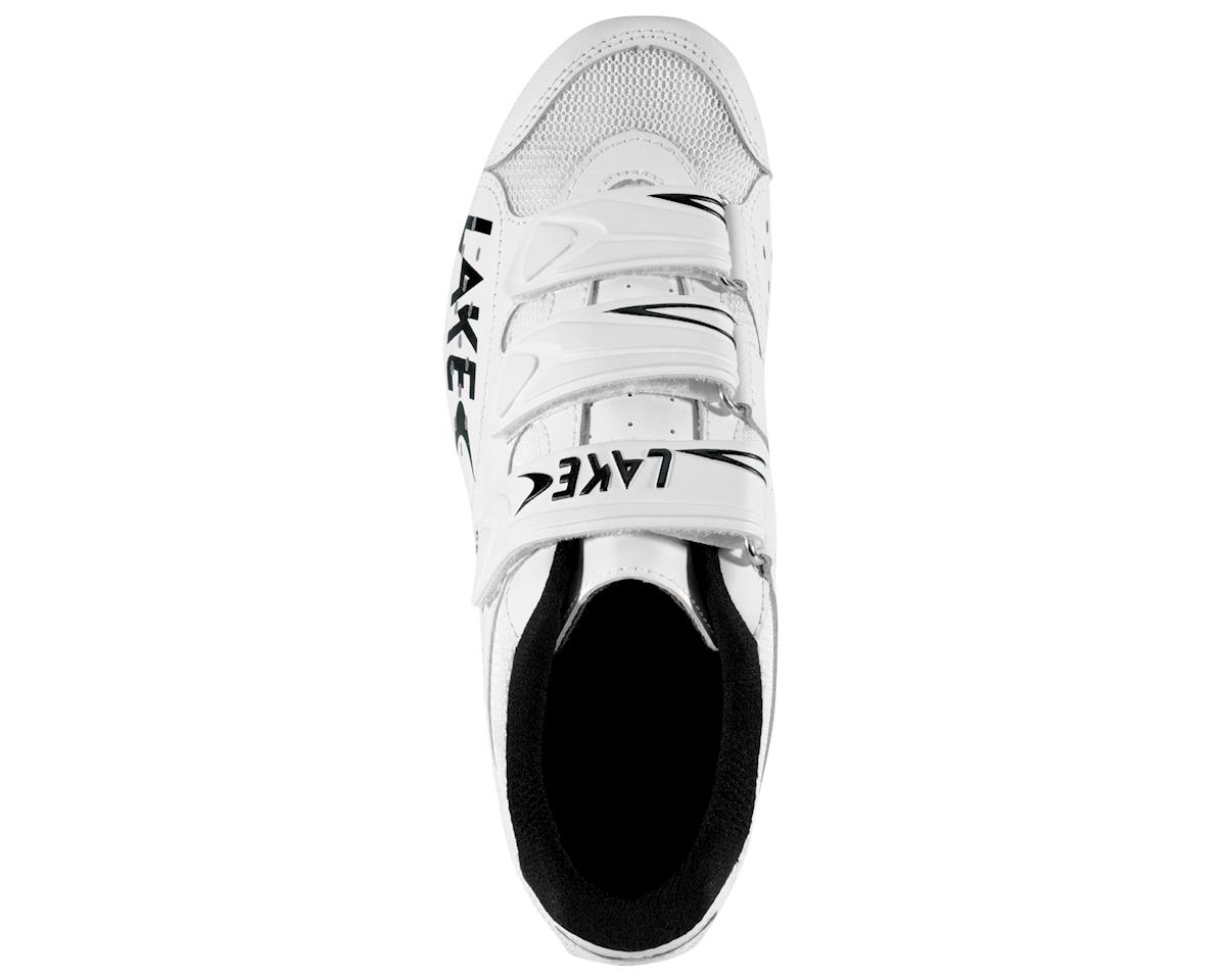 Image 2 for Lake CX160-X Wide Road Cycling Shoes (White/Red)
