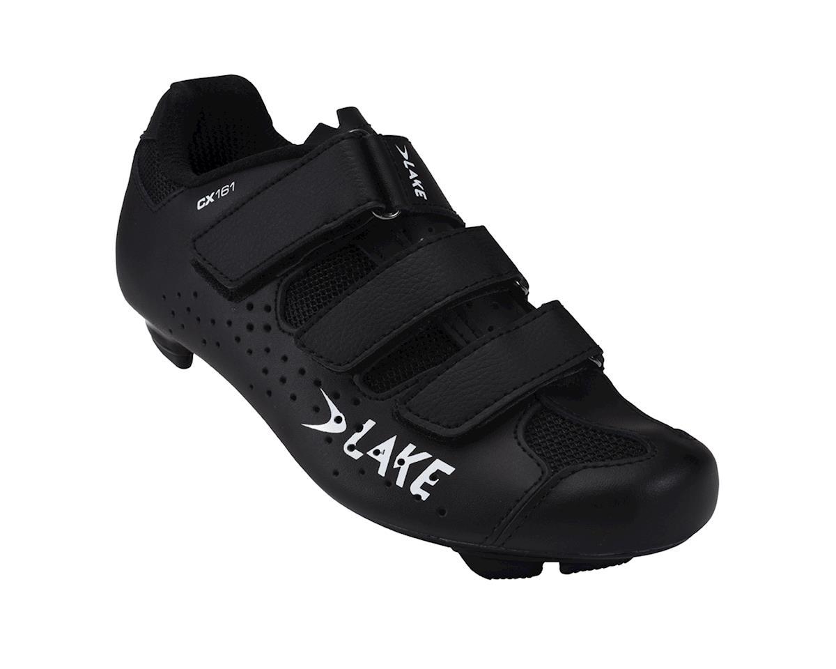 Lake CX161 Women's Road Shoes (Black)