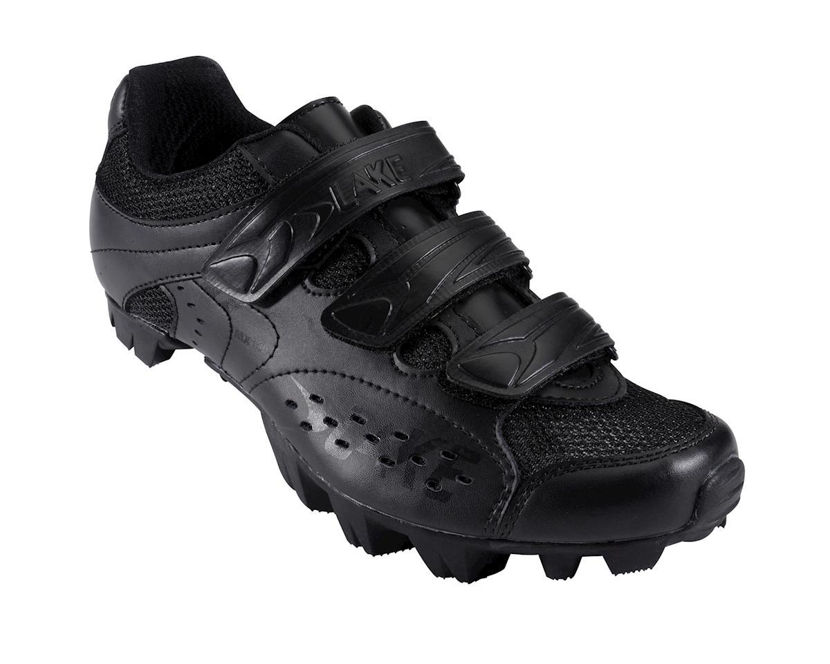 Lake MX160 Mountain Shoes (Black/White)