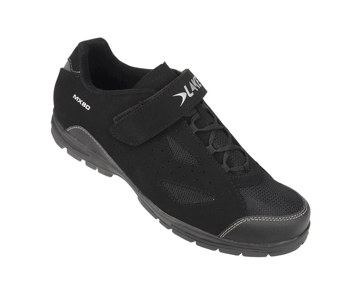 Image 1 for Lake MX80 MTB Trail Shoes (Gray/Black)
