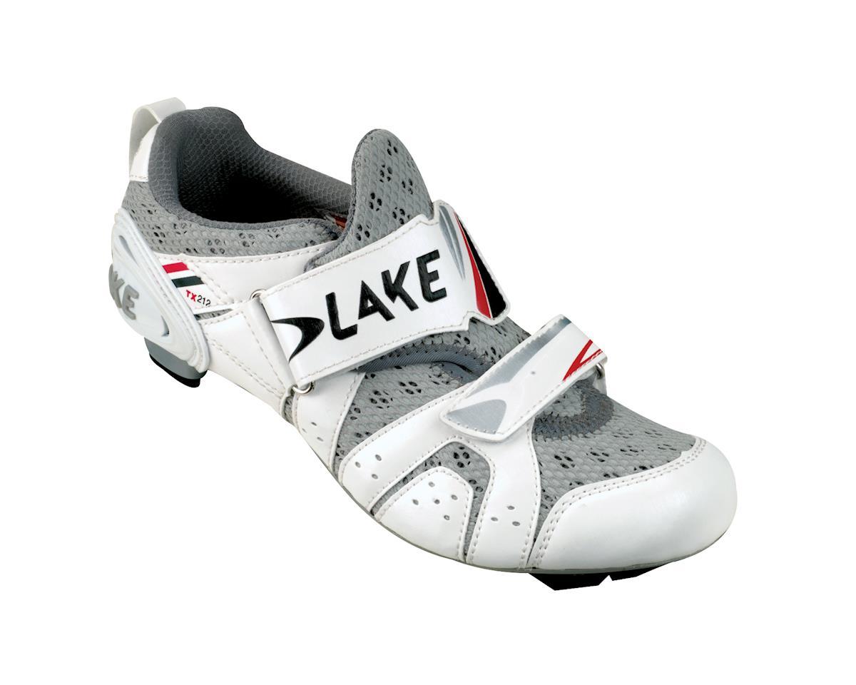 Image 1 for Lake TX212 Triathlon Road Shoes (White)