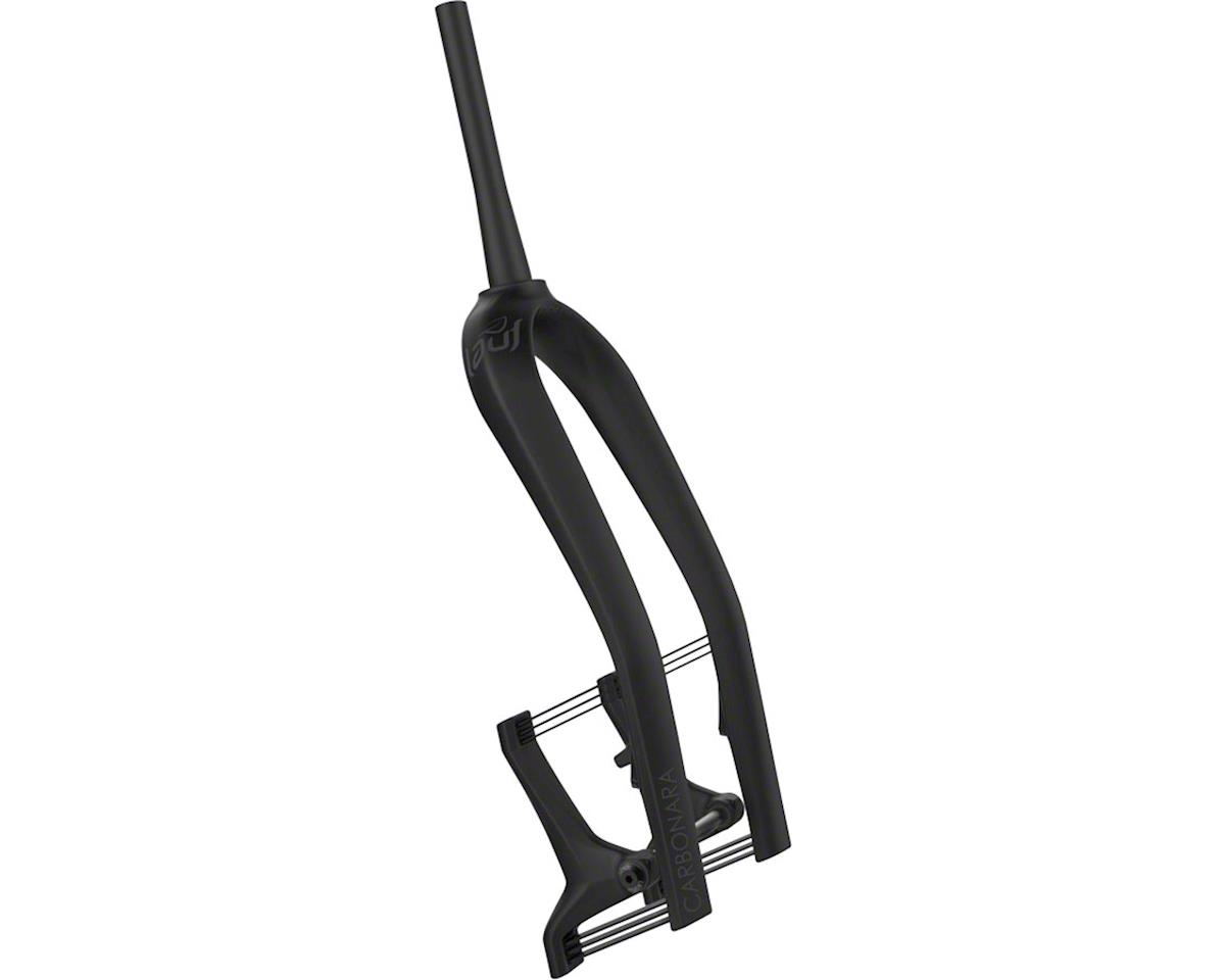 Lauf Carbonara Fat Bike Fork (Black) (60mm Travel) (Regular Spring)