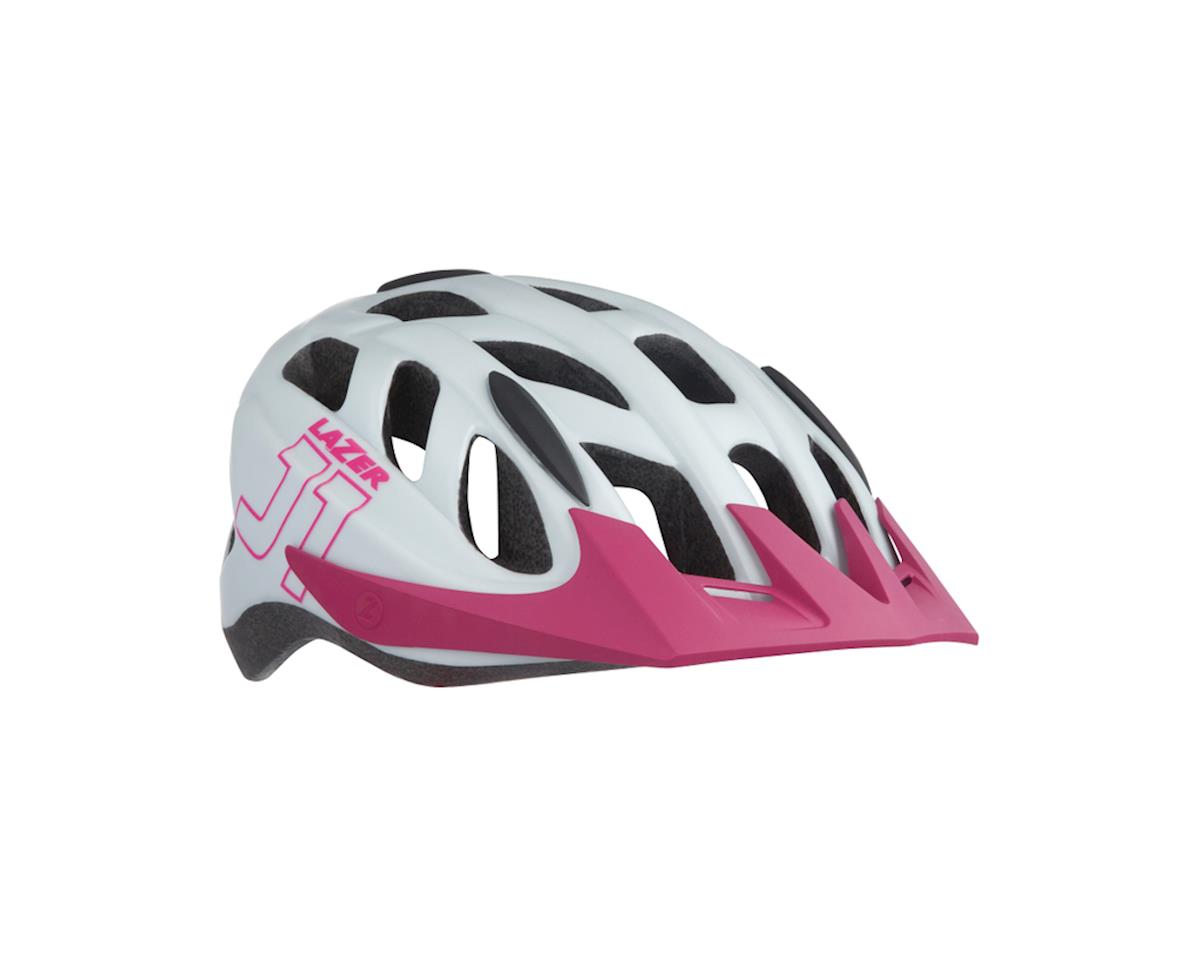 Lazer J1 Helmet (White/Pink)
