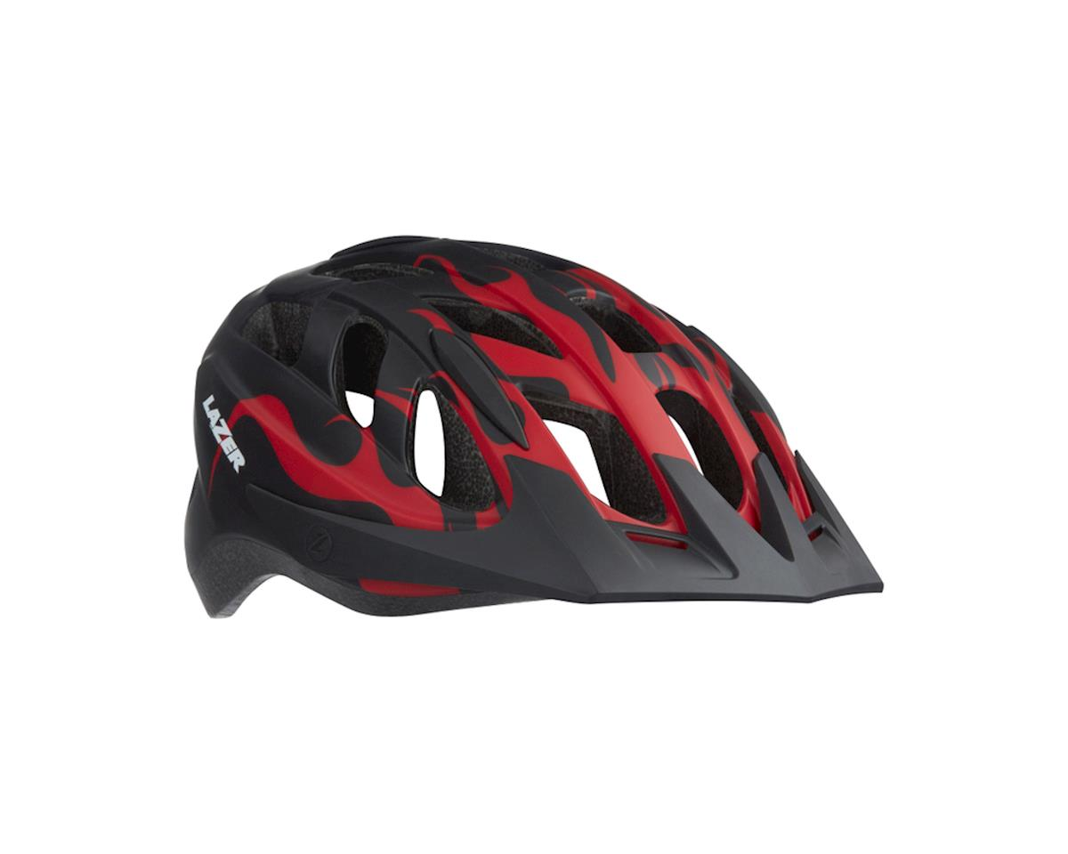 Lazer J1 Helmet (Black w/ Flames)