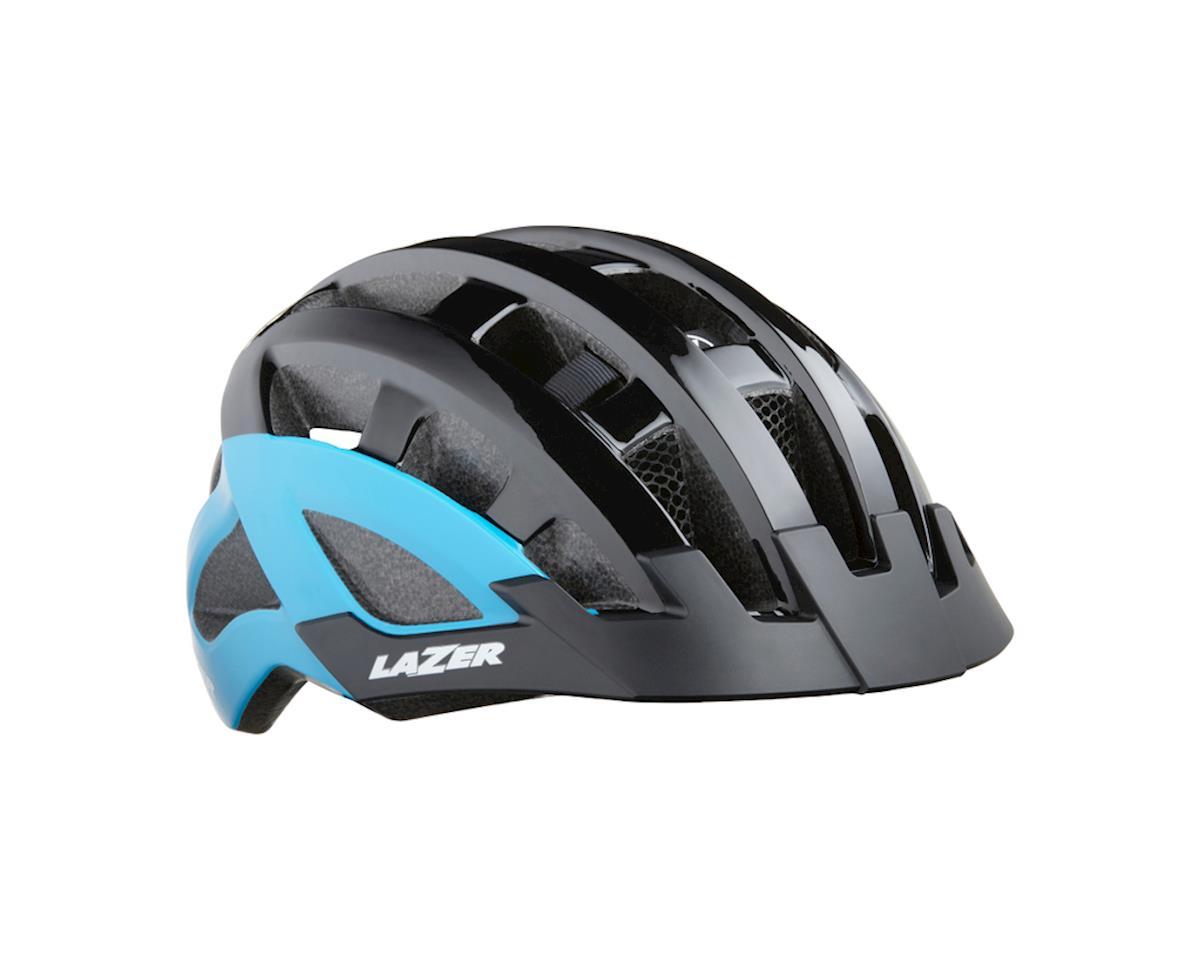 Lazer DLX Compact Helmet (Black/Blue)