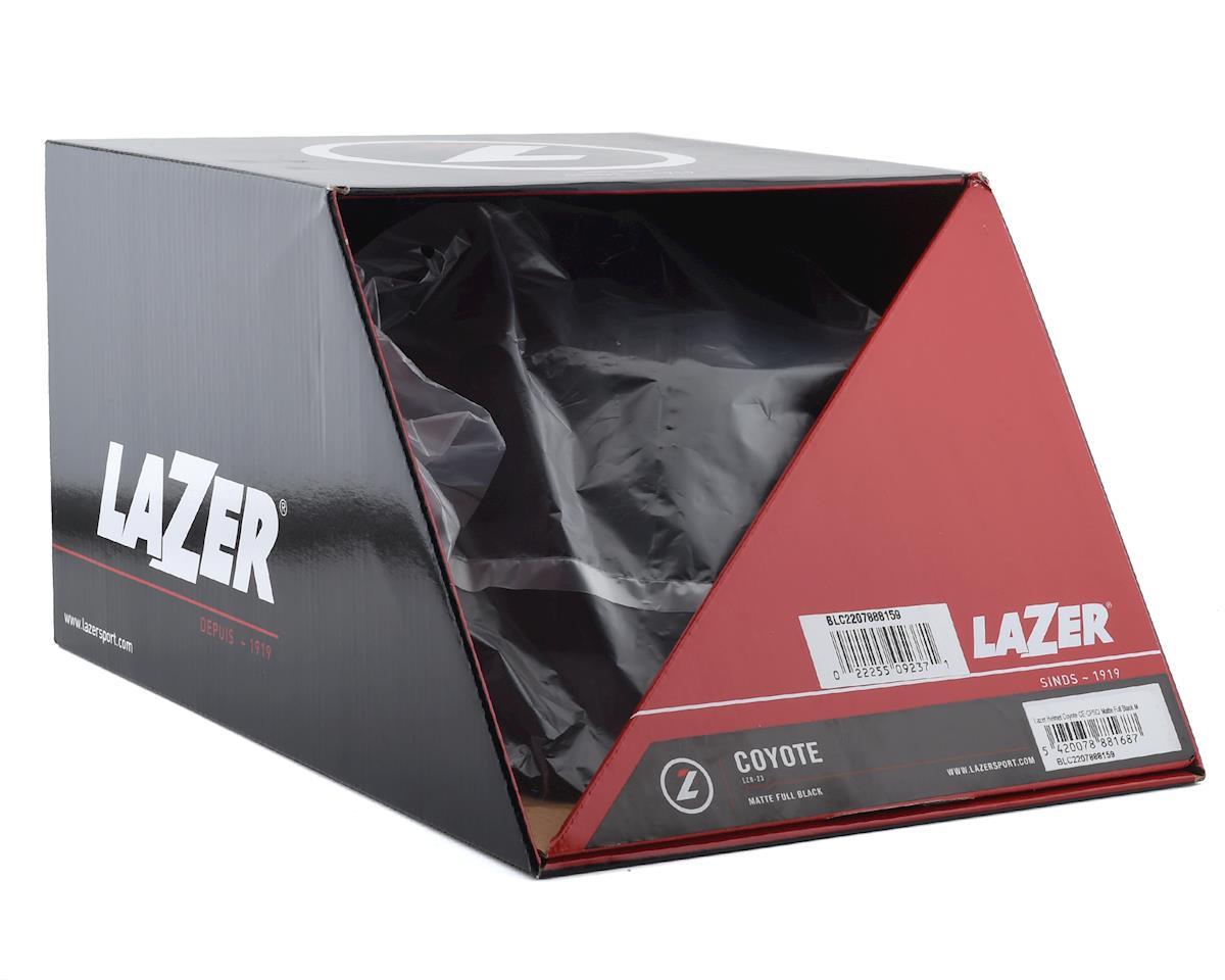 Lazer Coyote Helmet (Matte Full Black) (L)