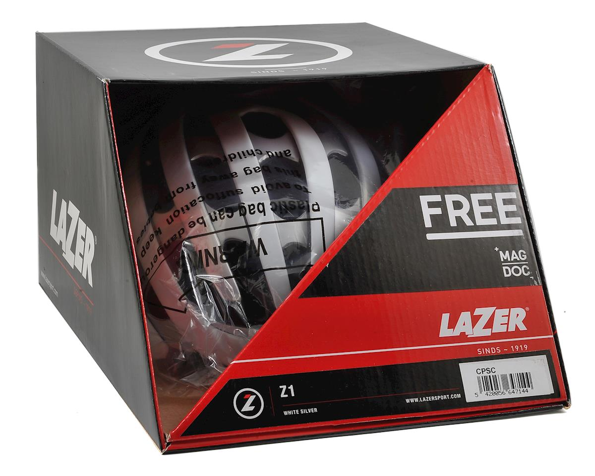 Lazer Z1 Road Helmet (White/Silver)