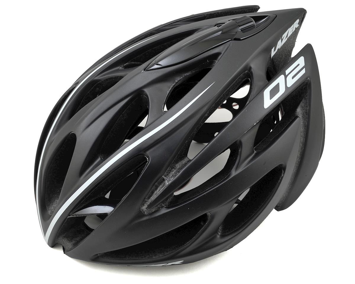 Lazer O2 Deluxe Helmet System w/ Aero Shell, Cap, Lock & LED (Black)