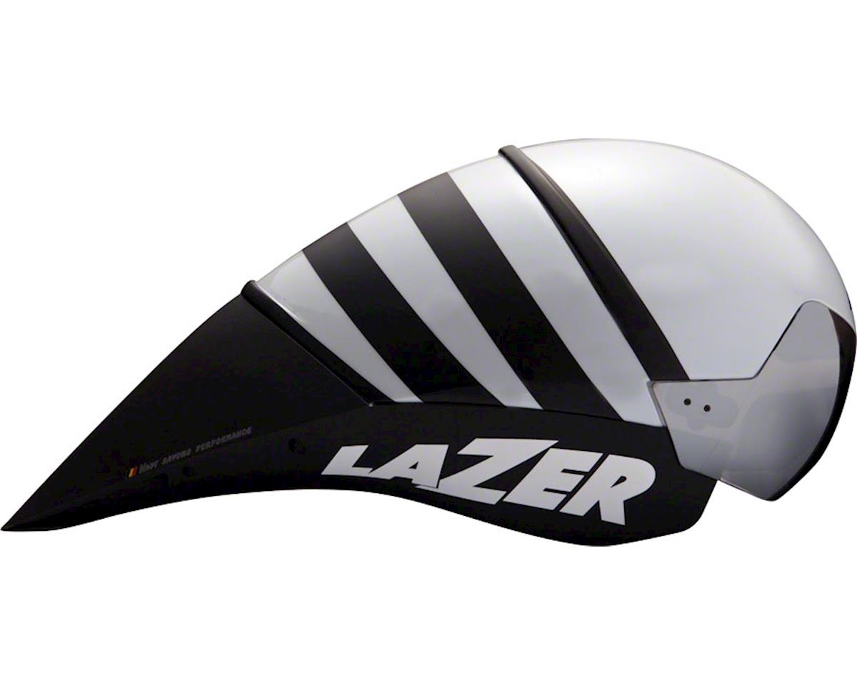 Lazer WASP Time Trial Helmet: Flash Yellow and Black SM