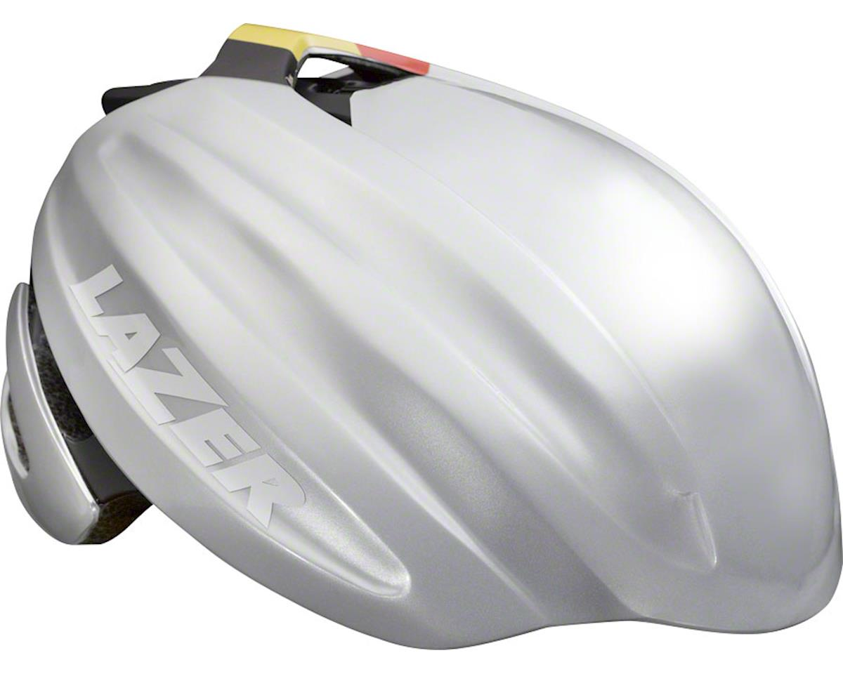 Lazer Z1 Fast Helmet: Black/Silver LG