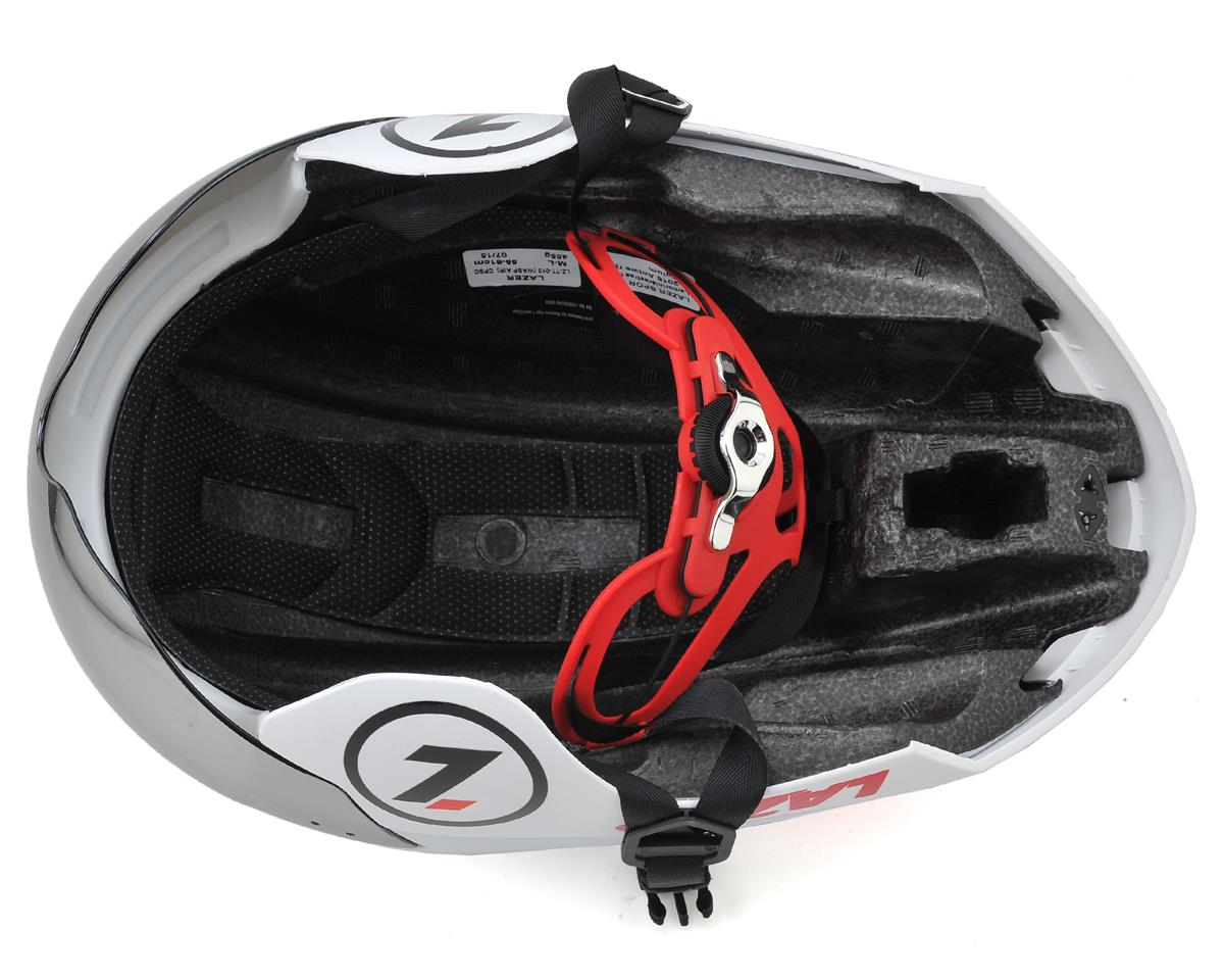 Lazer Wasp Air TT Helmet with IS (White/Red) (M/L)