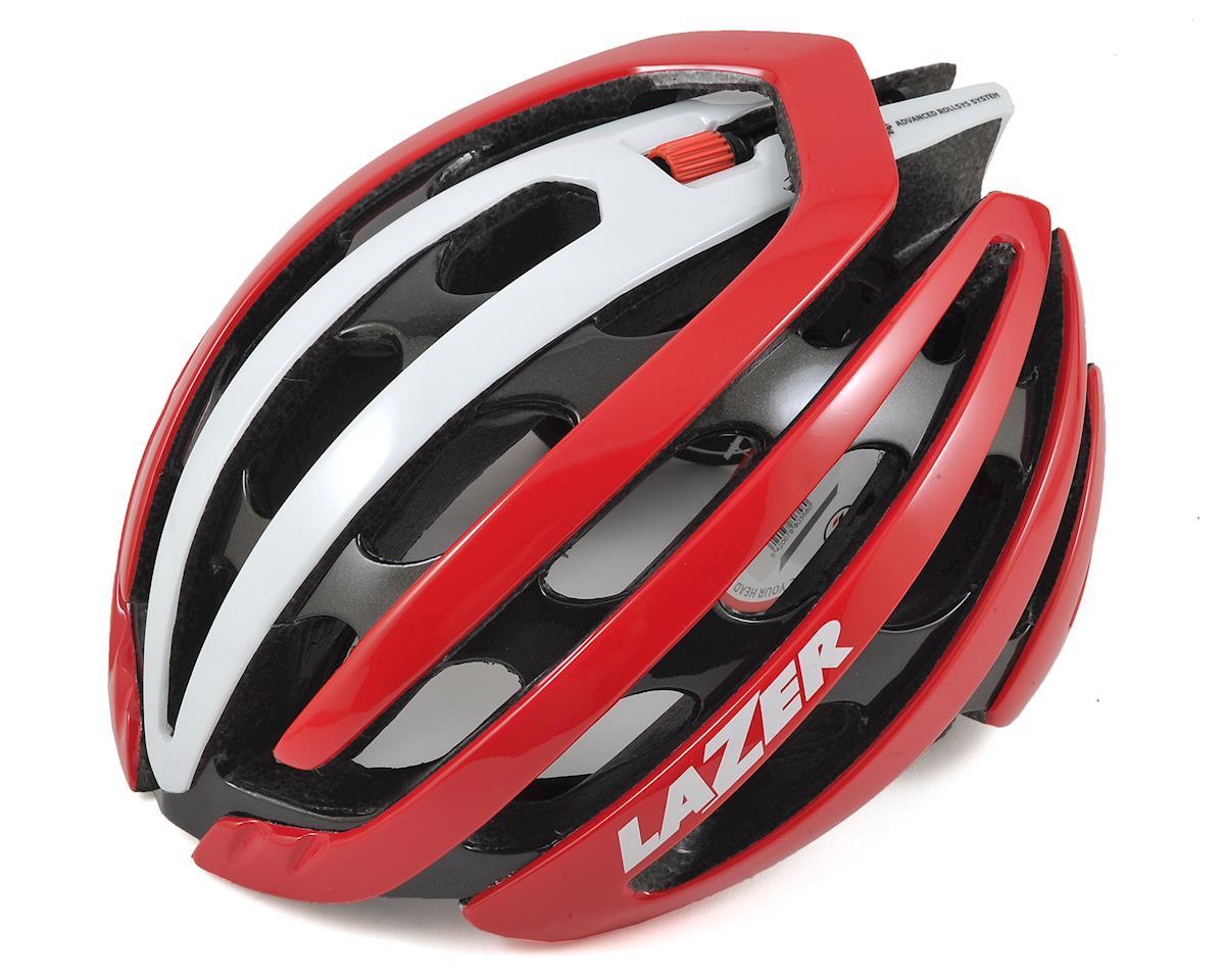 Lazer Z1 Road Helmet (Red/White) (M)