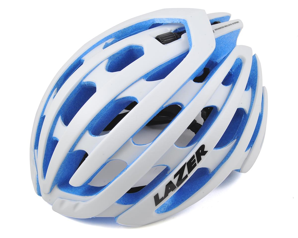 Lazer Z1 Road Helmet (White/Blue) (M)