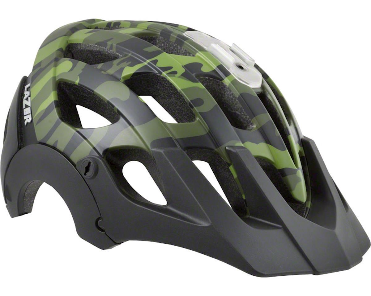 Revolution Helmet: Matte Black/Camo Flash Green, SM