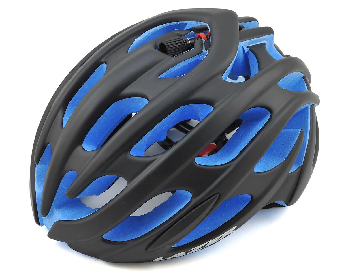 Lazer Blade Road Helmet (Matte Black/Blue EPS)