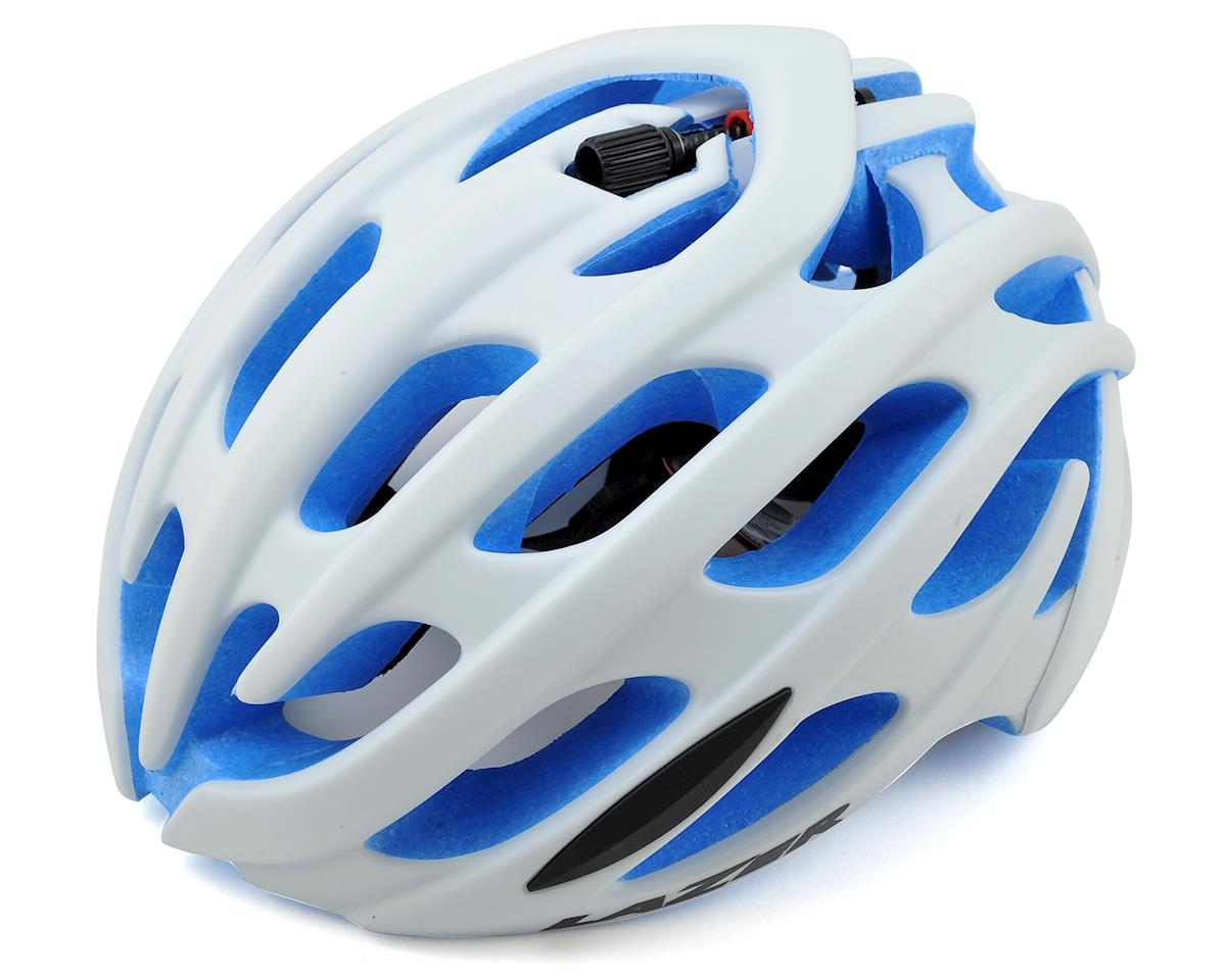 Blade Road Helmet (Matte White/Blue EPS)