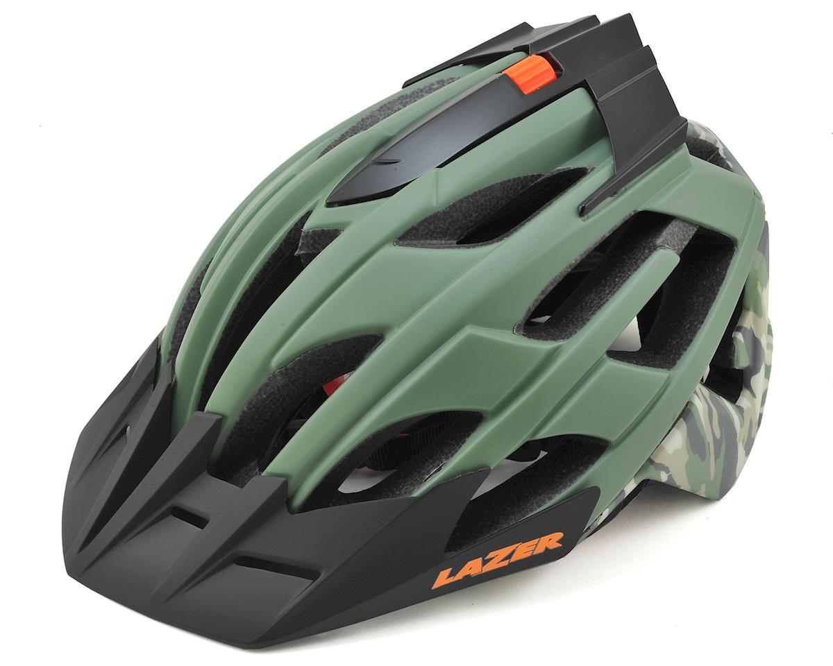 Oasiz Professional MTB Helmet (Matte Green Camo)