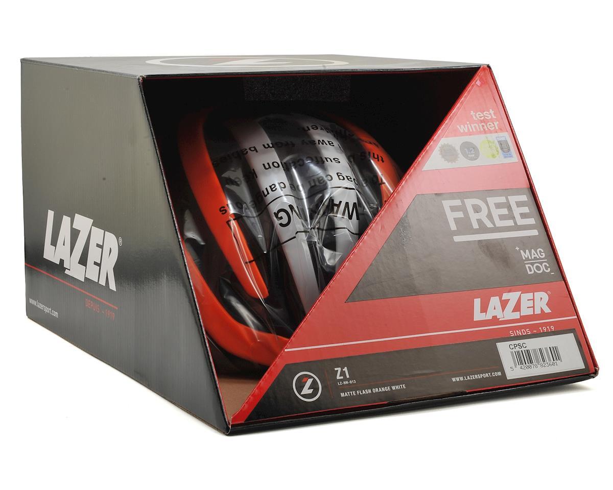 Lazer Z1 Road Helmet (Orange/White)