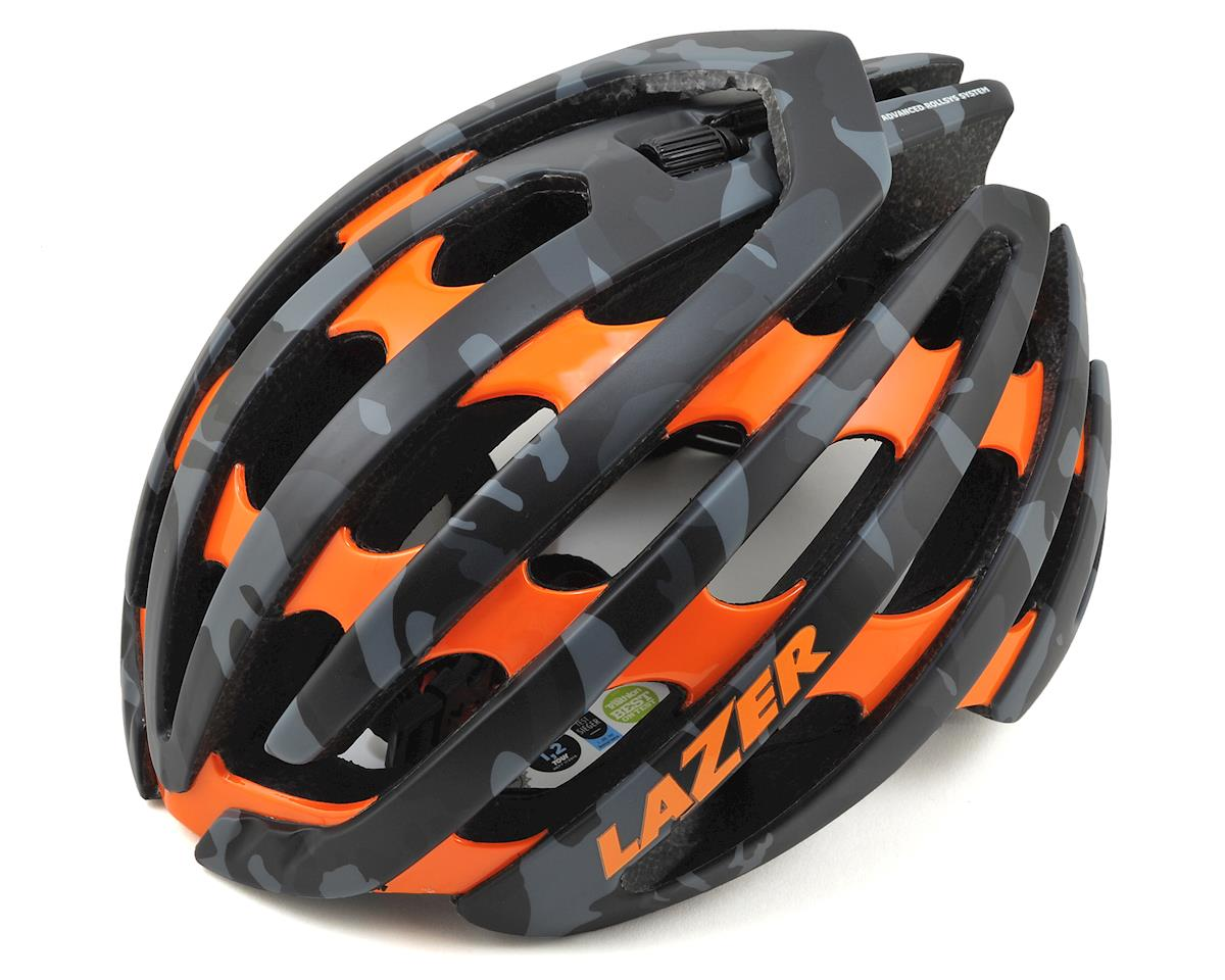 Z1 Road Helmet (Black Camo/Orange)