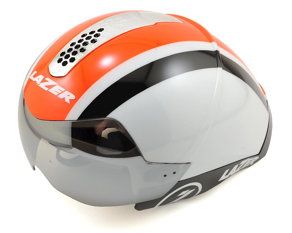 Wasp Air Tri Helmet (White/Orange/Black)
