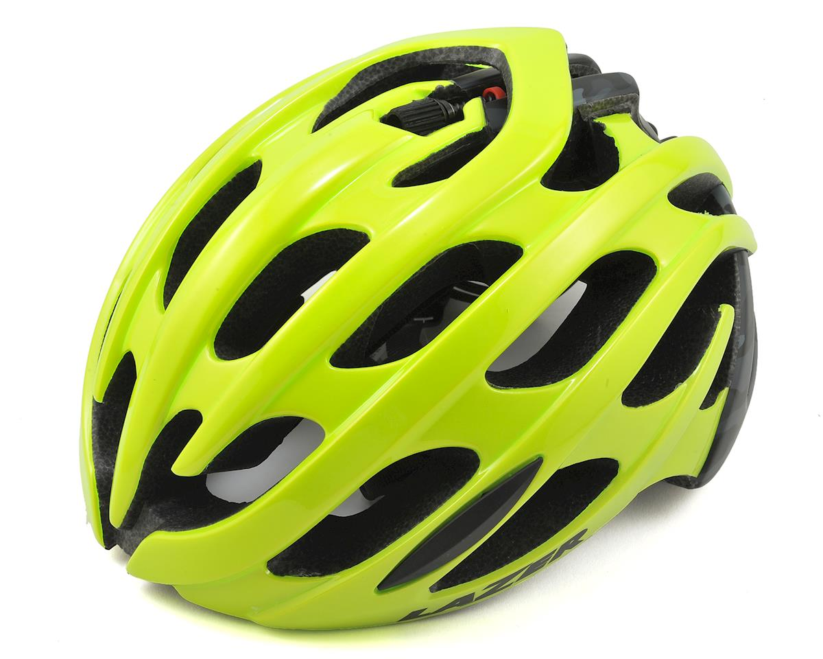 Lazer Blade Road Helmet (Flash Yellow/Matte Black Camo)