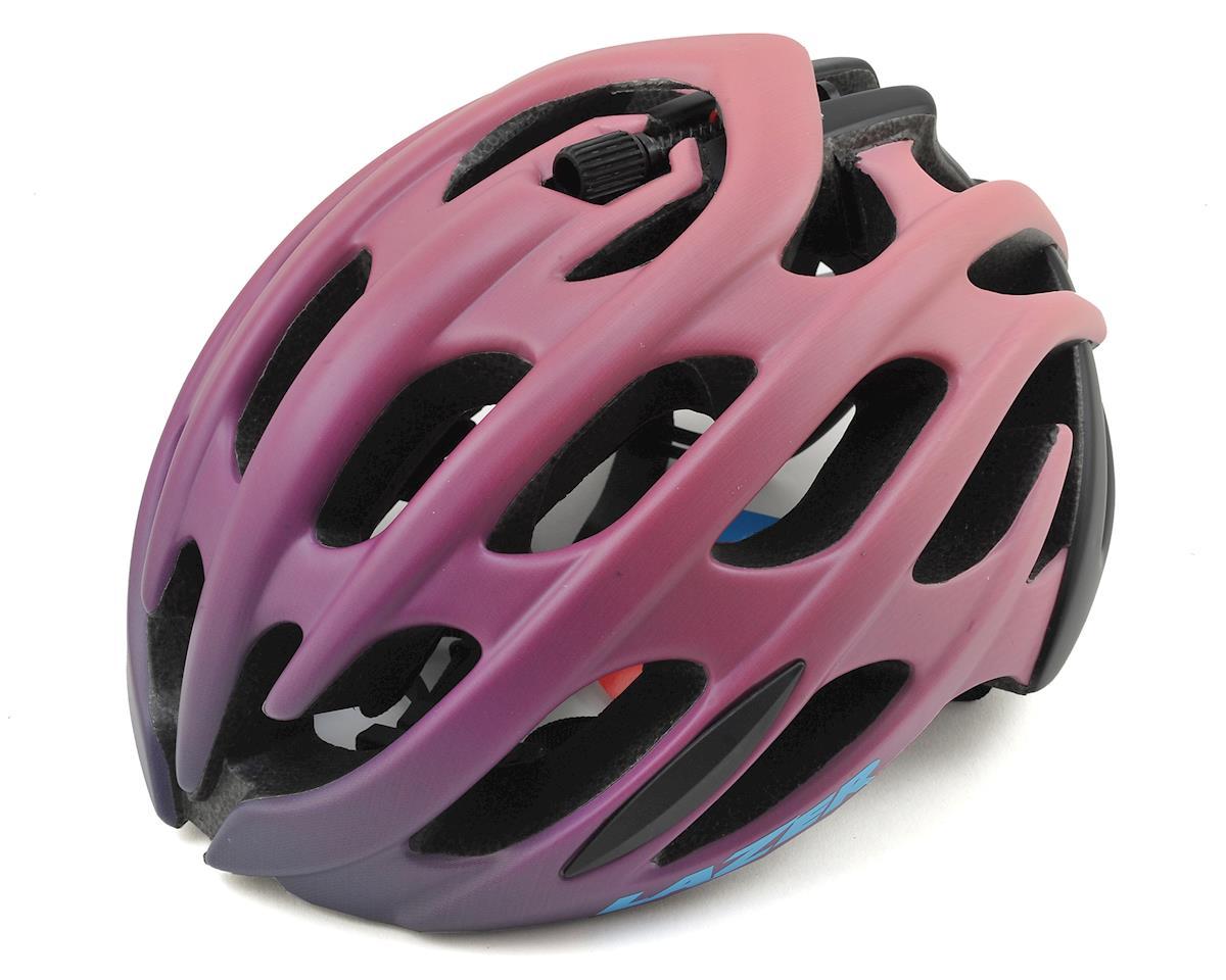 Lazer Moi! Elle Women's Road Helmet w/Aeroshell (Bordeaux Gradient)