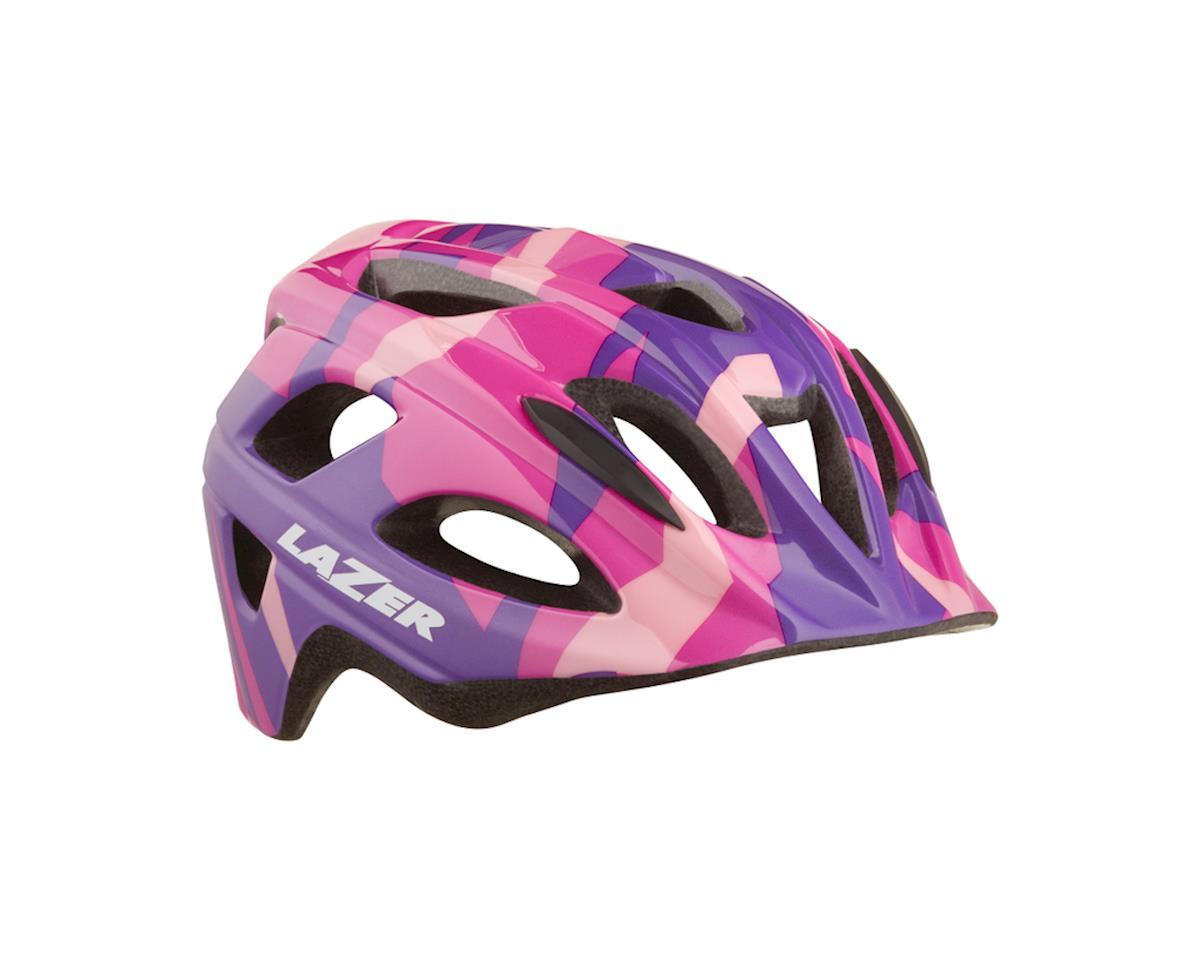 Lazer Nut'z Helmet (Pink/Purple/Camo)