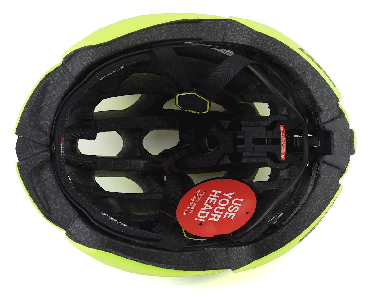 Lazer Z1 SE Helmet + Aeroshell (Bright Yellow) (S)