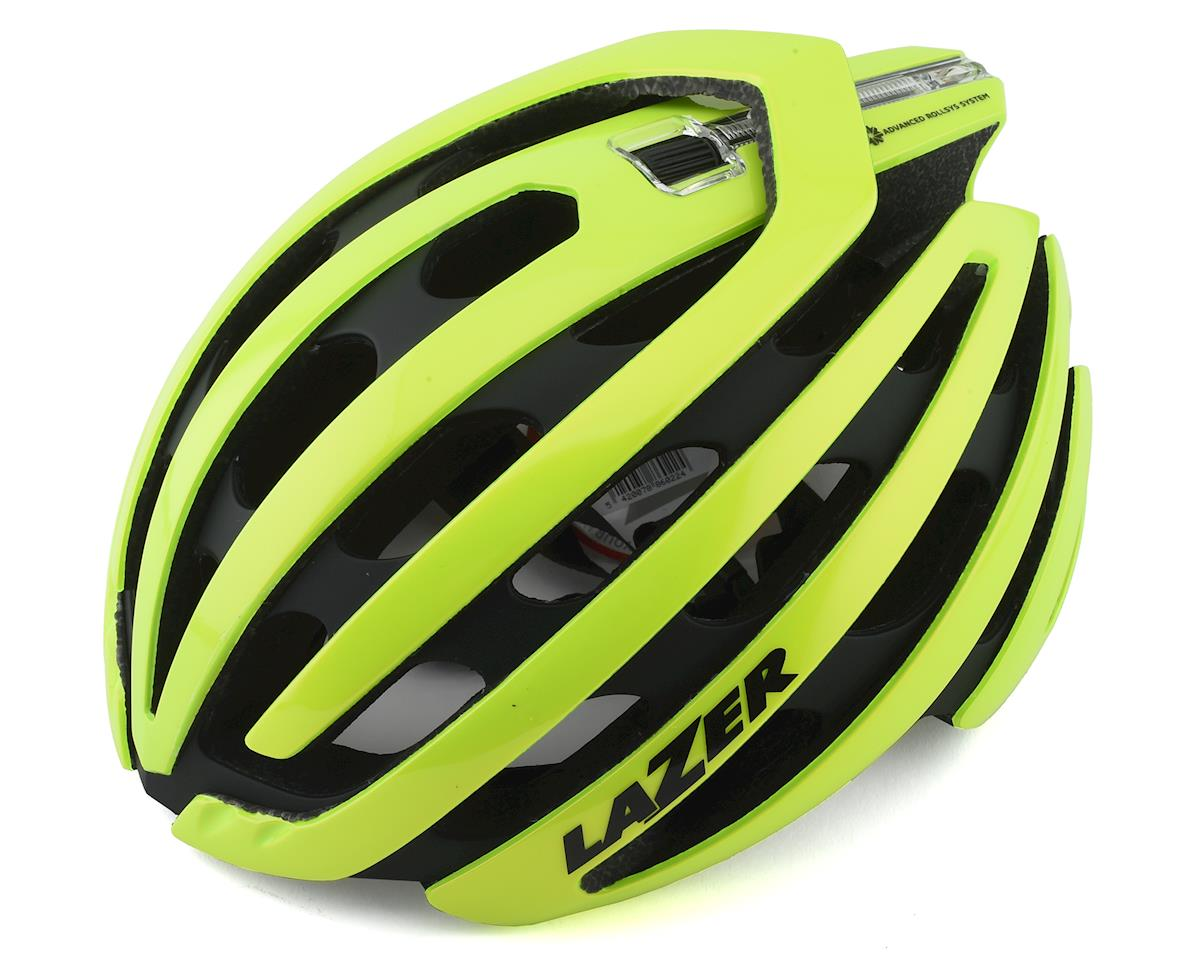 Lazer Z1 SE Helmet + Aeroshell (Bright Yellow) (L)