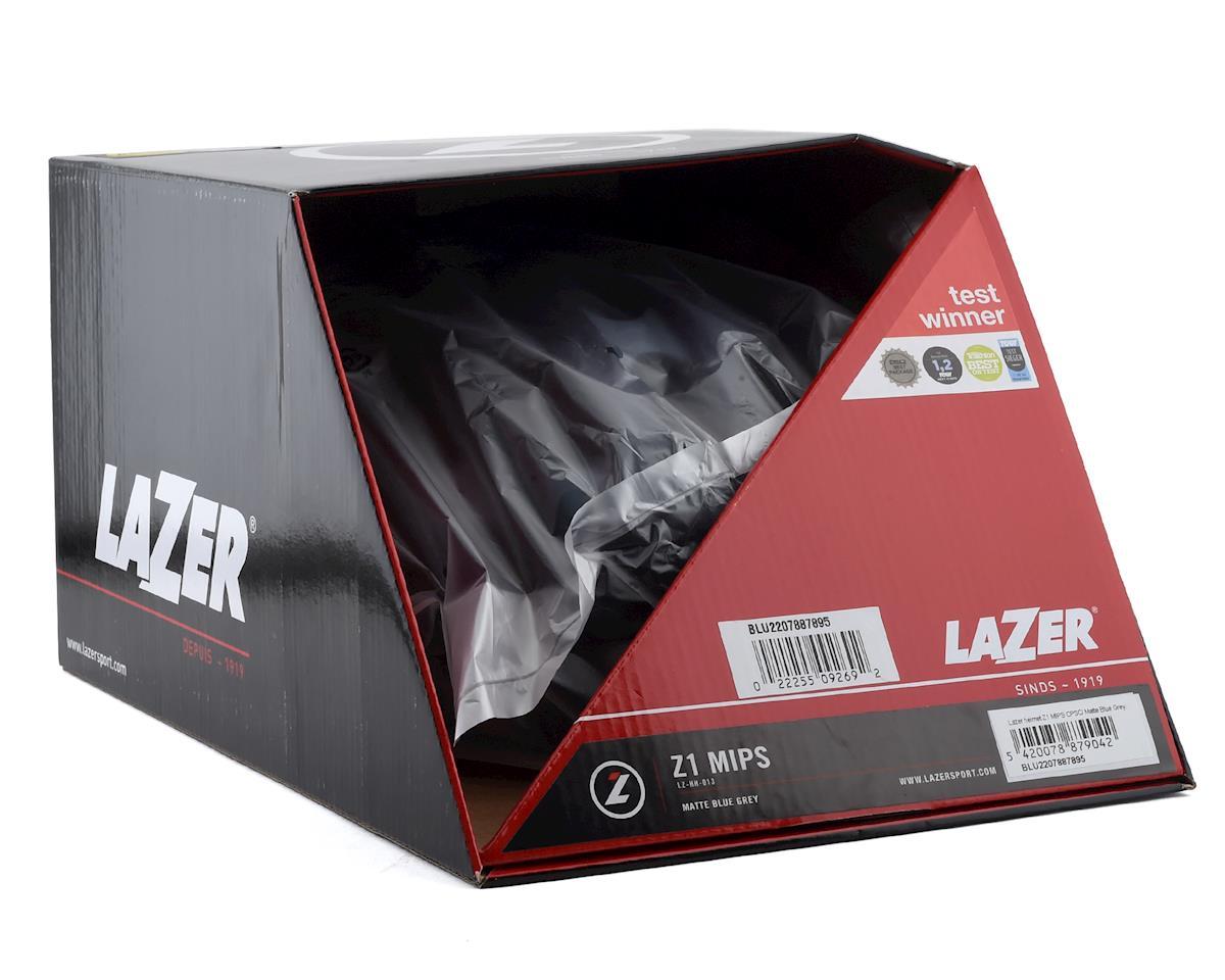 Lazer Z1 MIPS Helmet (Matte Blue / Grey) (S)