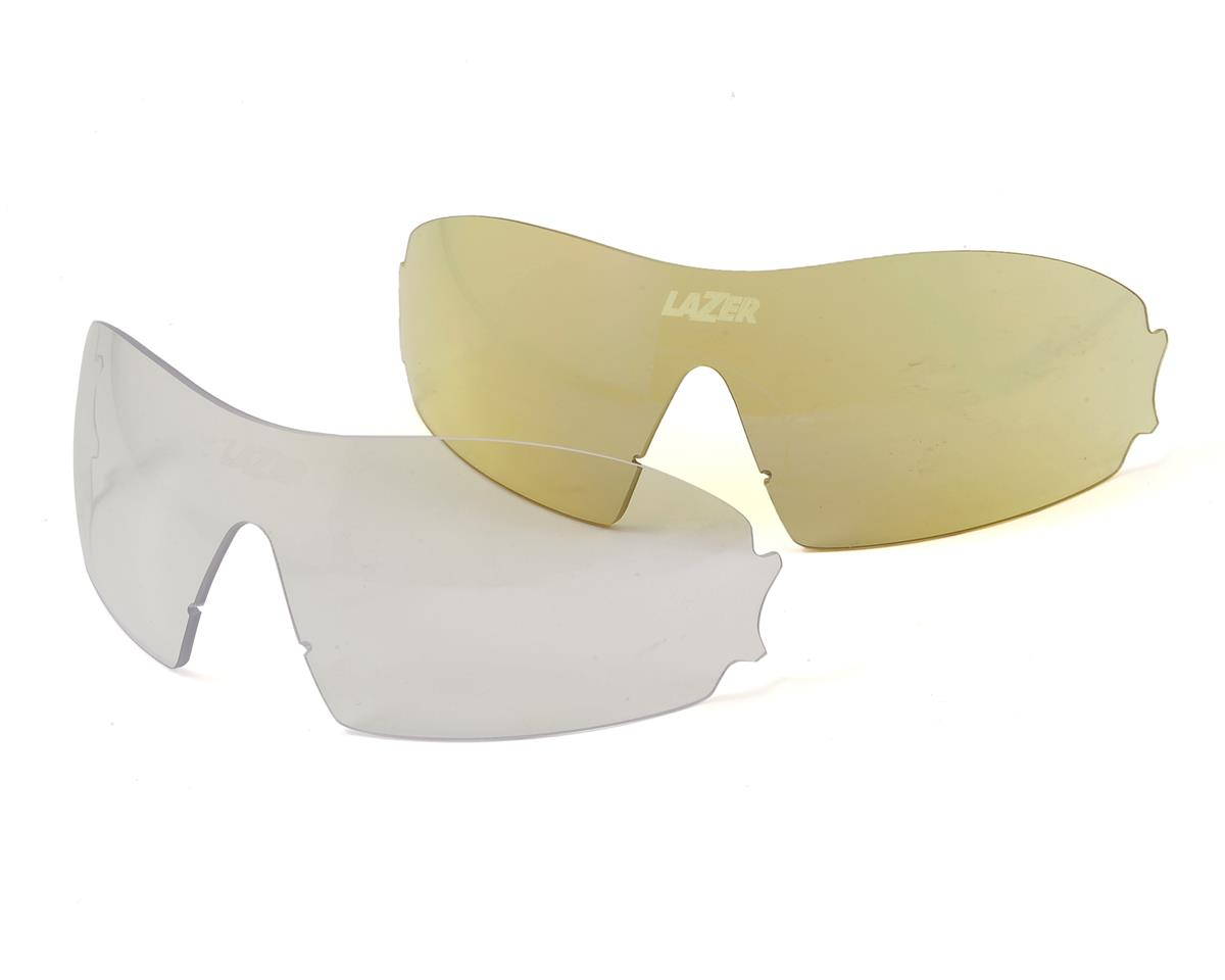 Lazer M1-S Sunglasses (Interchangeable) (Gloss White)