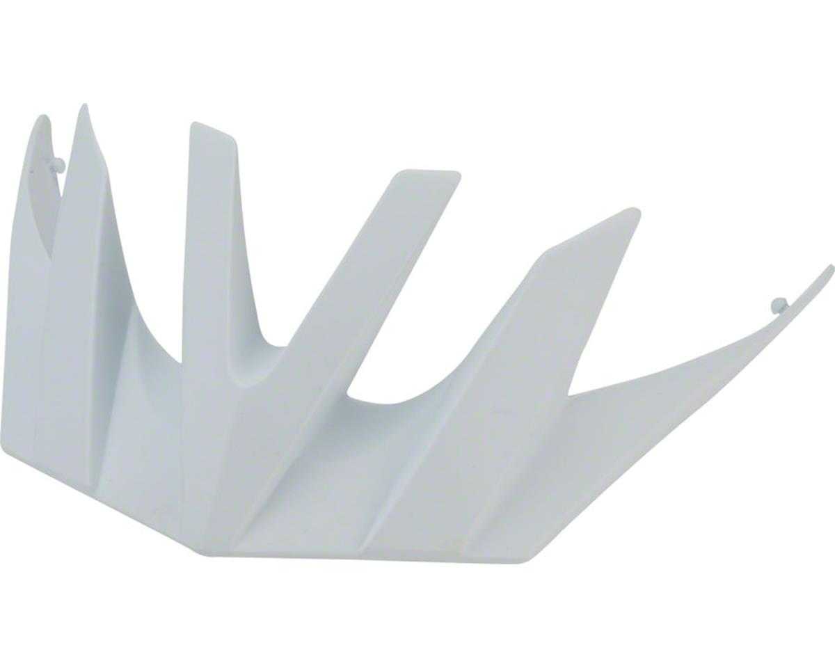 O2XC Helmet Visor: White, Fits all sizes