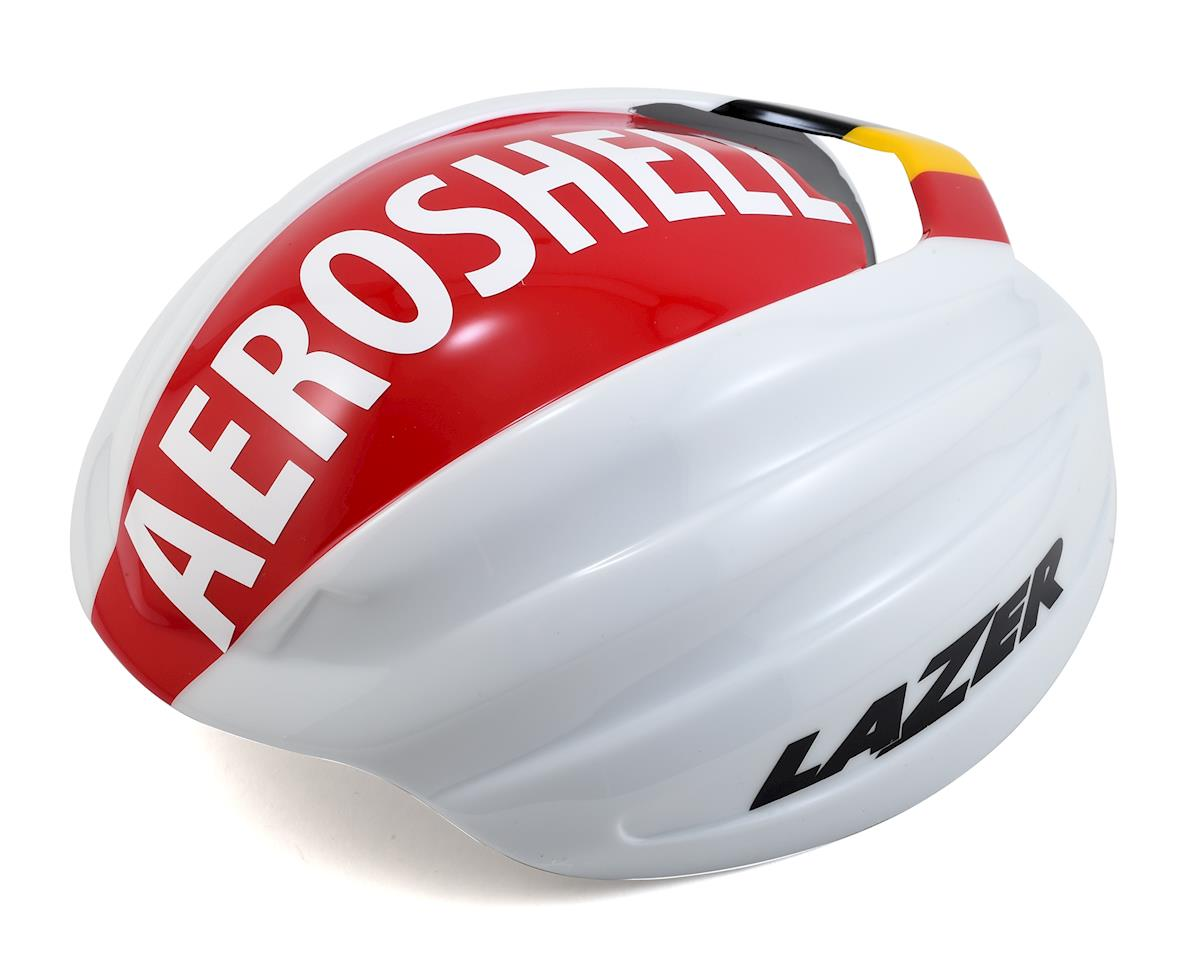 Aeroshell for Z1 Road Helmet (White/Red) (M)