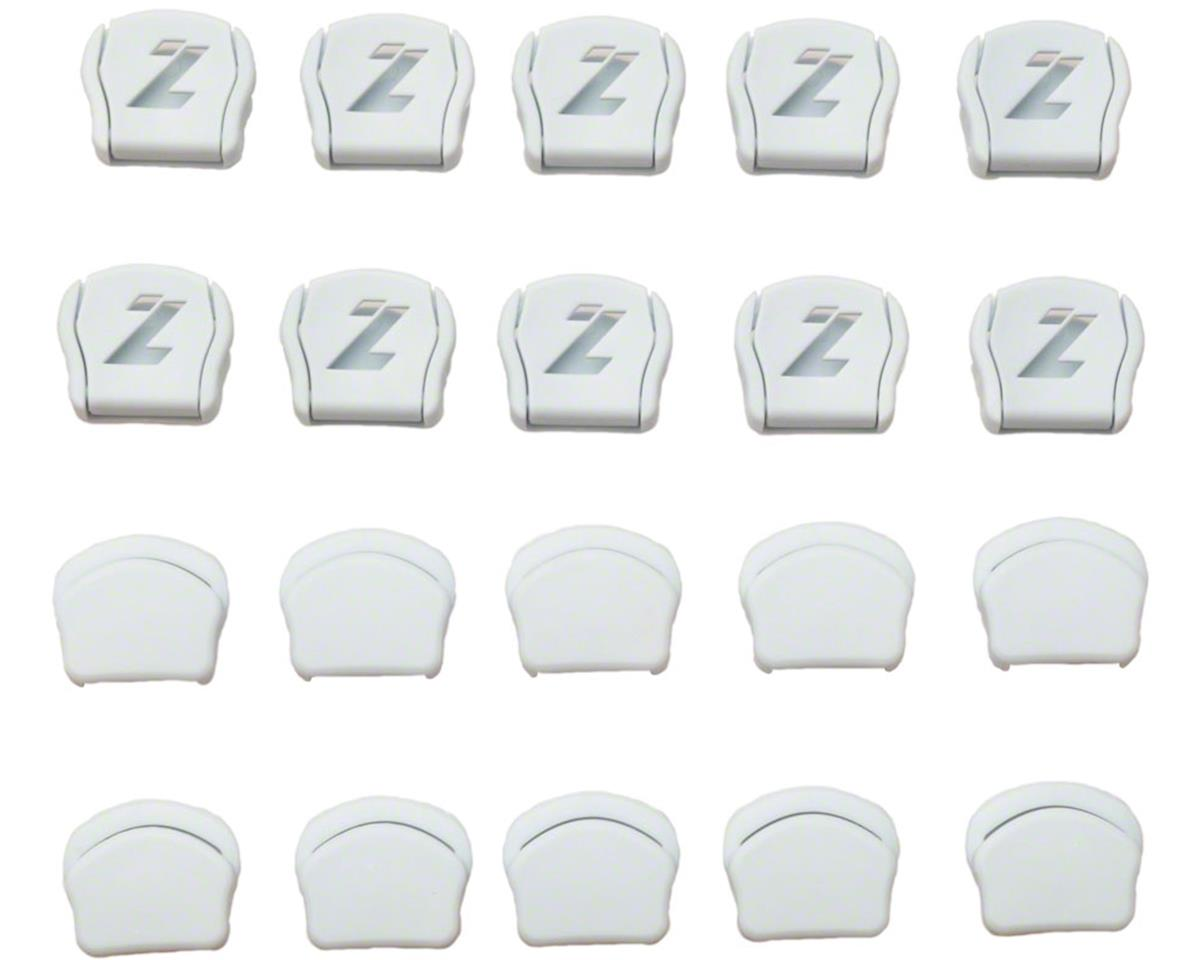 White New Lazer Strap Dividers for Regular Straps Bag of 20