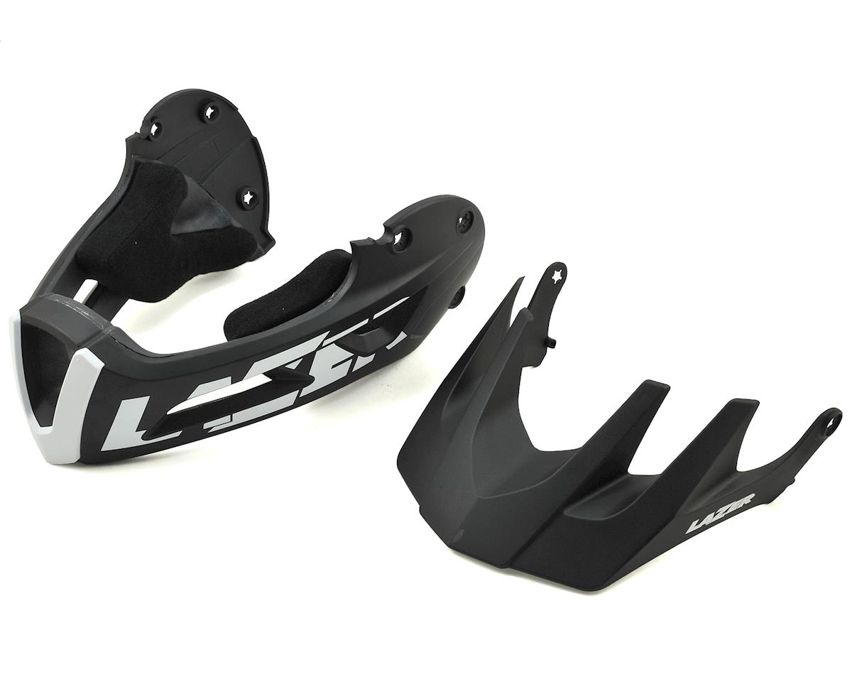 Lazer Revolution MTB FF Chin Guard w/Long Visor (Black)