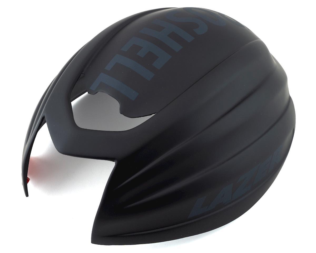 Lazer Z1 Aeroshell (Black) (M)