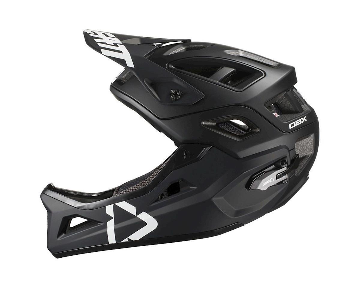 Leatt DBX 3.0 Enduro Helmet (Black/White) (M)