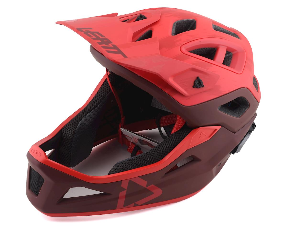 Leatt DBX 3.0 Enduro Helmet (Ruby Red)